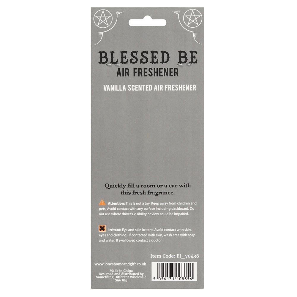 Blessed be ja pentagrammi ilmanraikastin vanilja