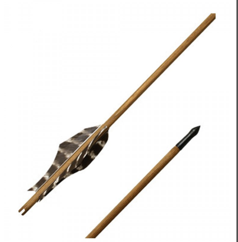 Nuoli Traditional wooden arrow ?Skadi? - 29 inches