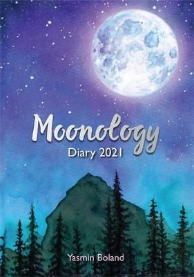 Moonology Diary 2021 Boland, Yasmin kirja TARJOUSHINTA
