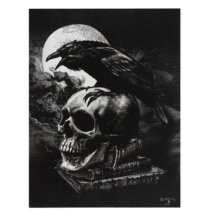 Poe's Raven canvas taulu by Alchemy