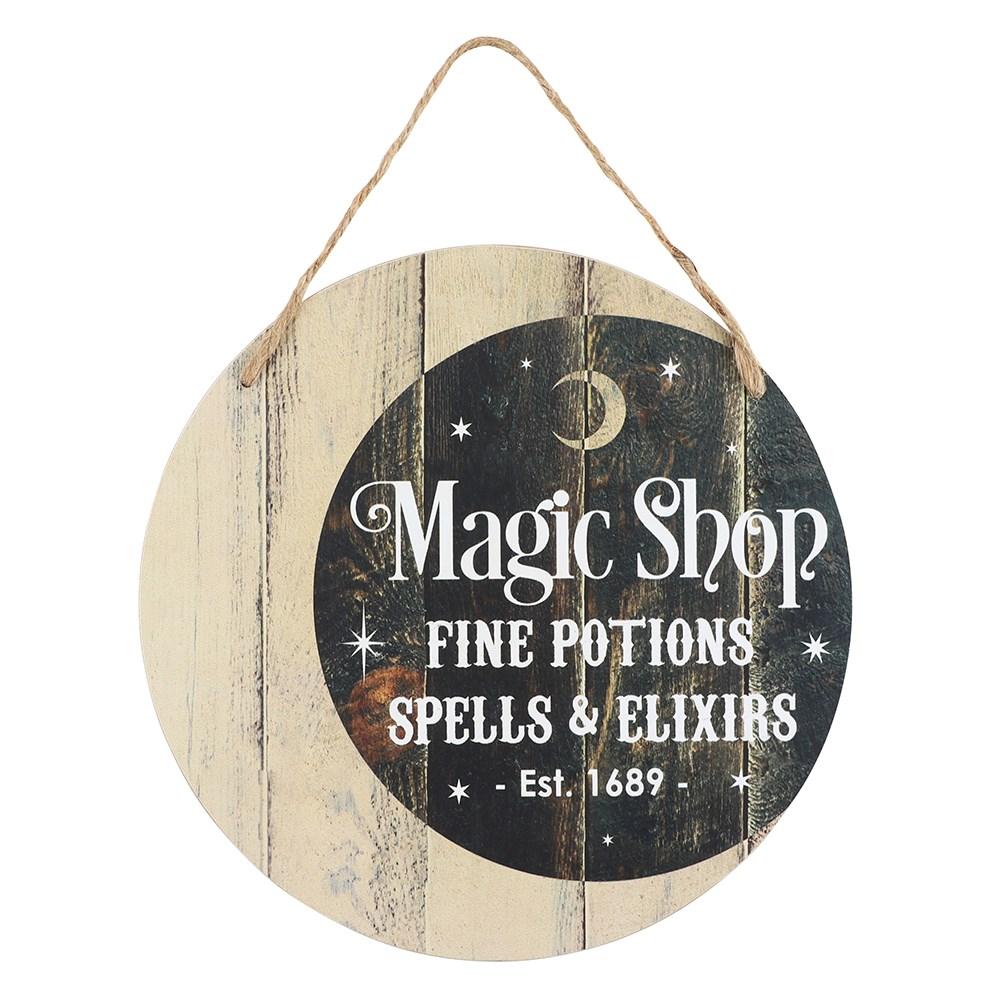 Magic shop huoneentaulu kyltti