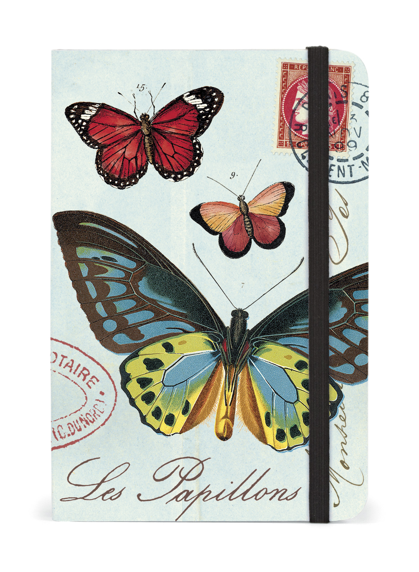 Cavallini Notebook Butterflies Small