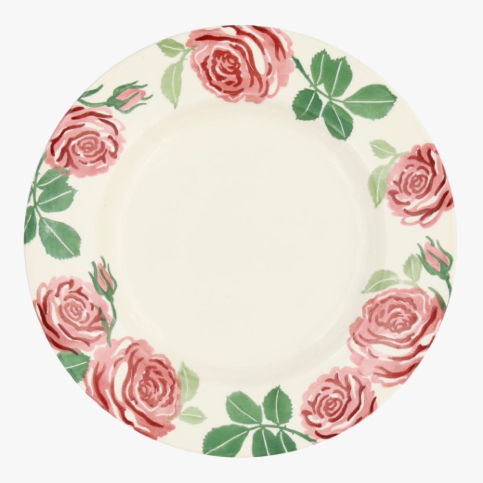 "Emma Bridgewater Pink Roses 8 1/2"" Plate"