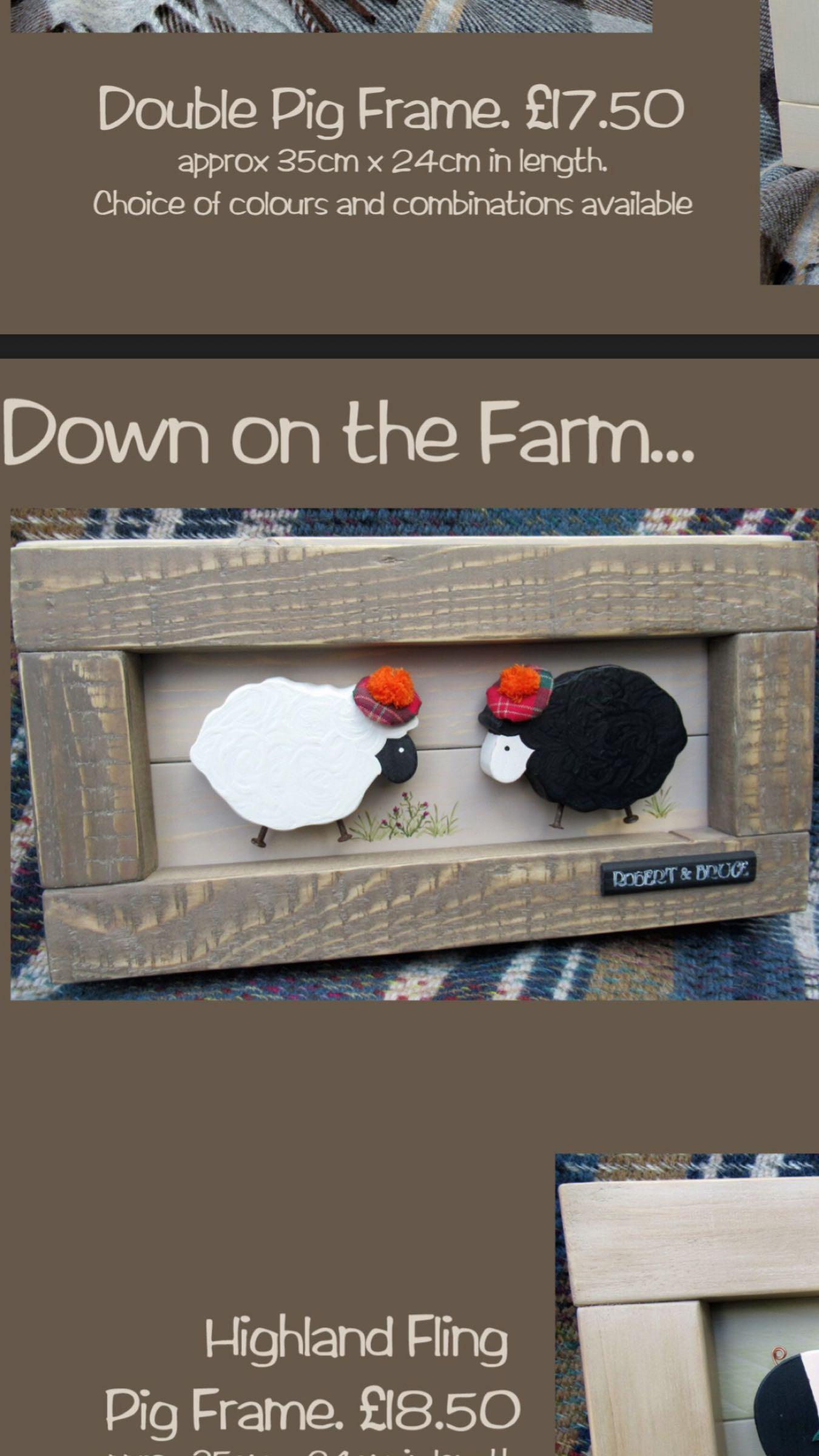 Sheep / Pig Frames