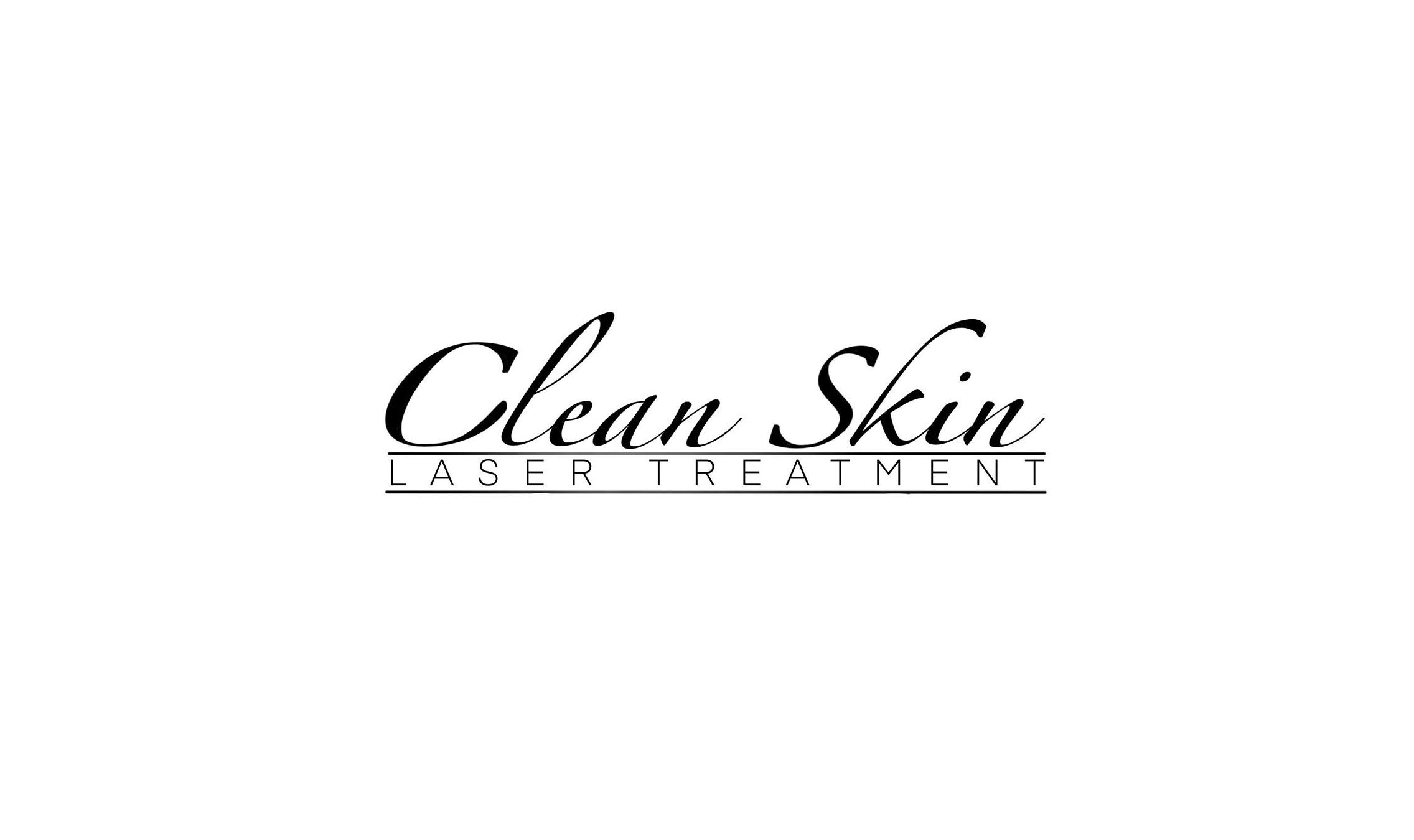 Clean skin laser treatment