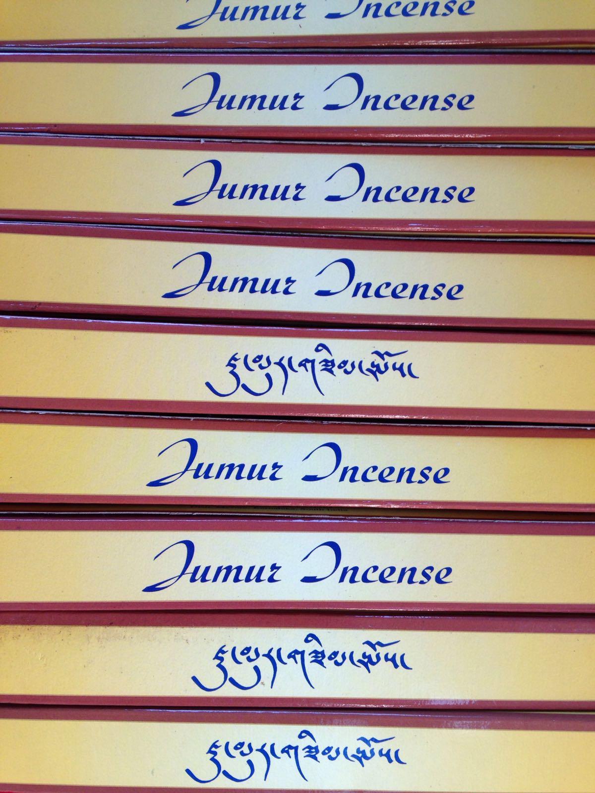 Tibetansk røkelse - Jumur