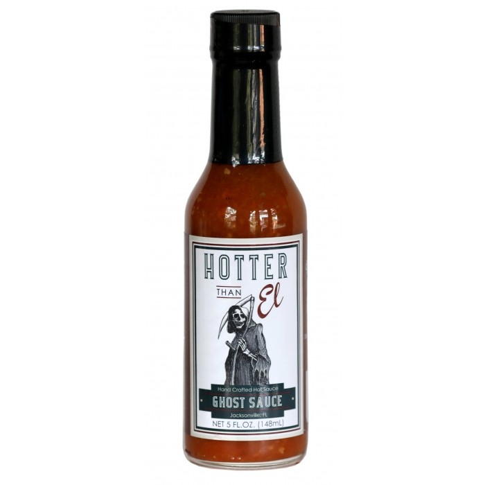 Hotter than Ell Ghost Sauce