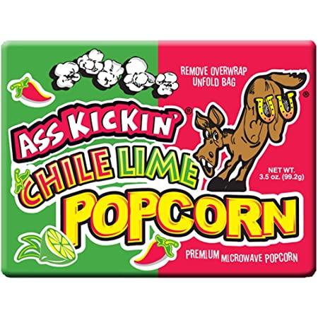 Ass Kickin' Chile Lime Popcorn