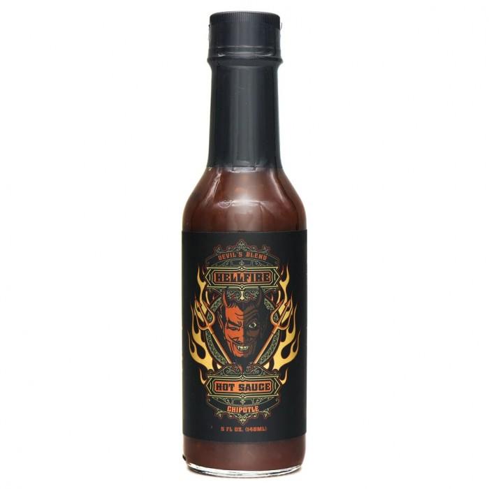 Devil's Blend Bourbon Chipotle Hot Sauce