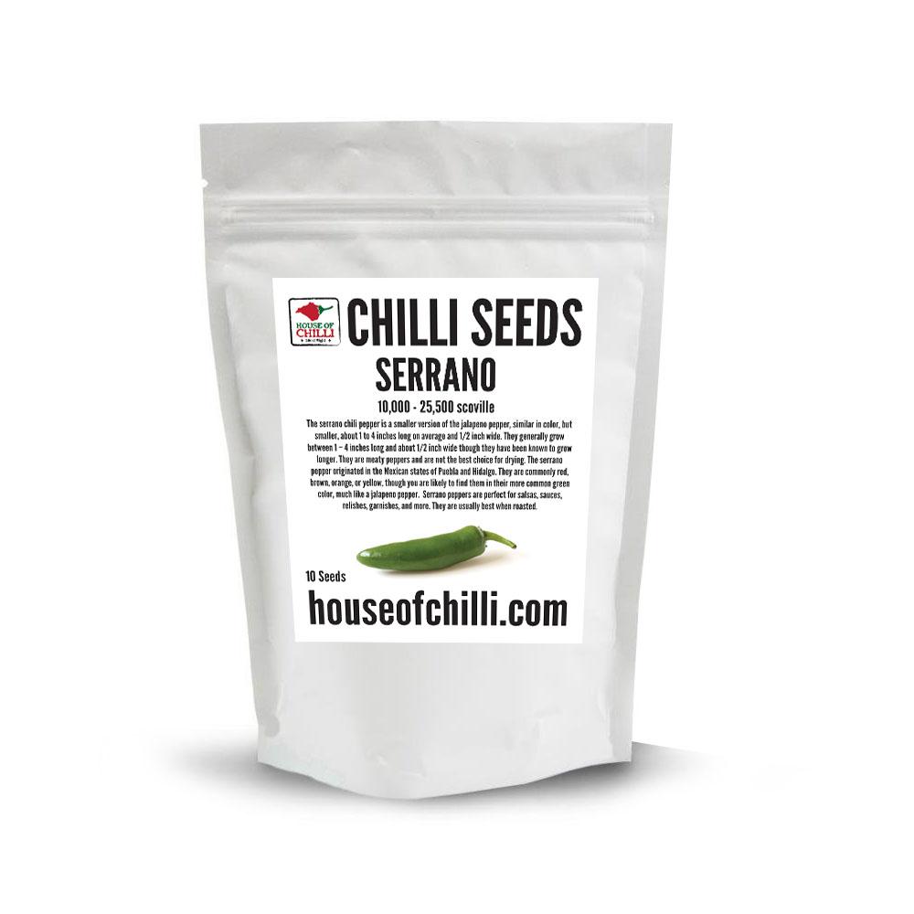 Serrano Seeds