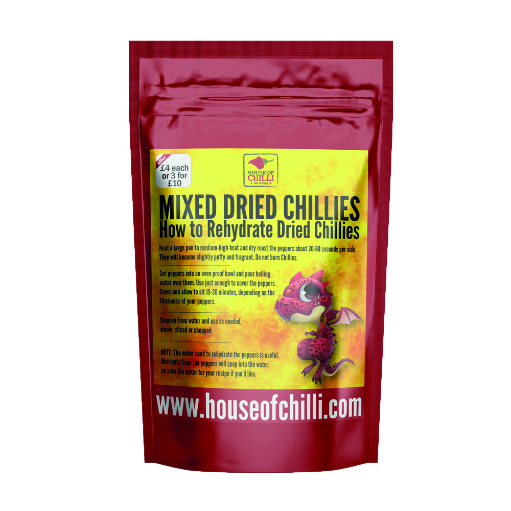 Mixed Dried Chillies