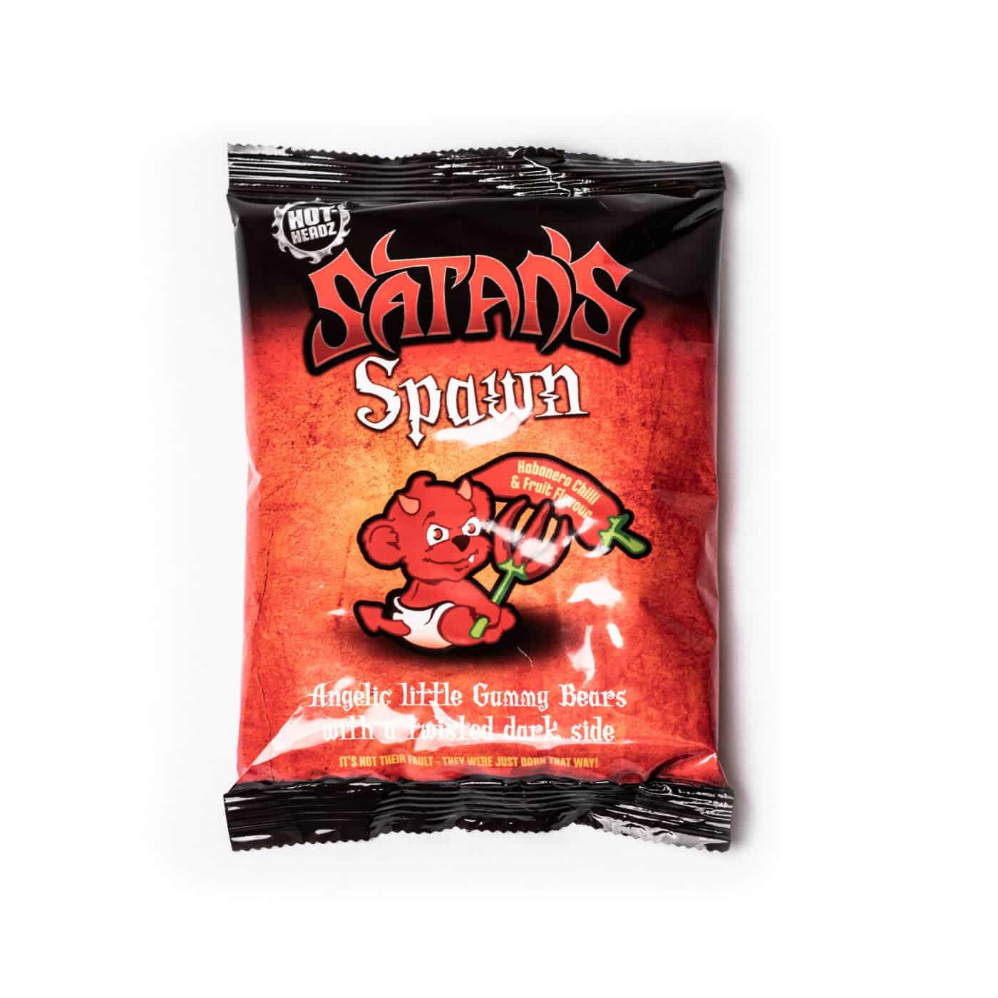 Satan's Spawn! Habanero Gummy Bears in new full colour bag