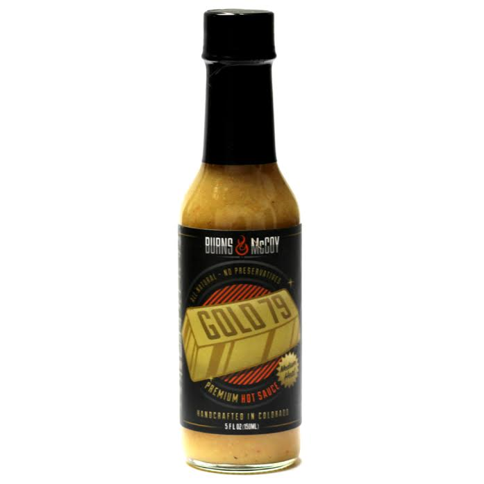 Gold 79 - Mildly spicy with a hint of turmeric and mustard