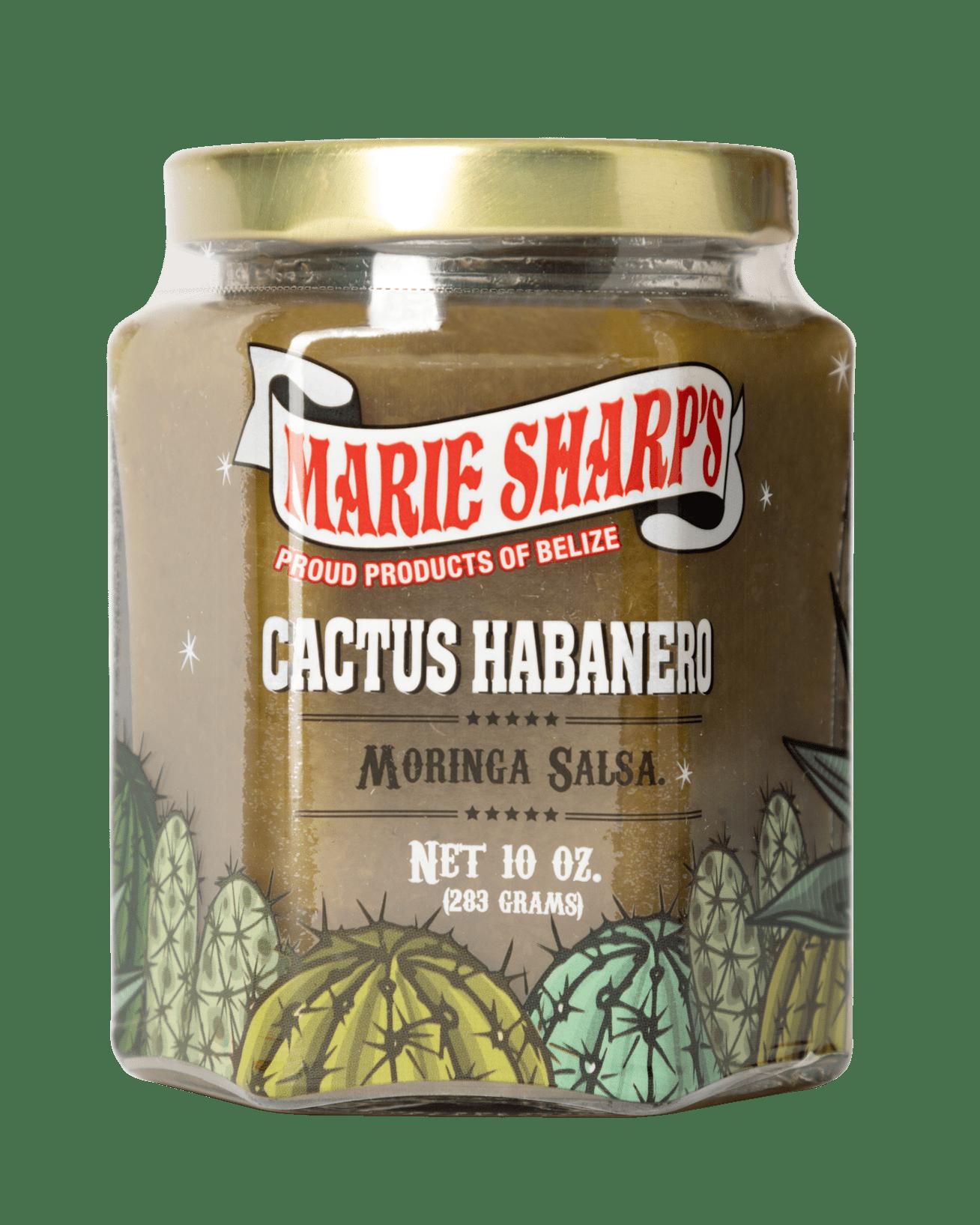Marie Sharp's Cactus Habanero Moringa Salsa