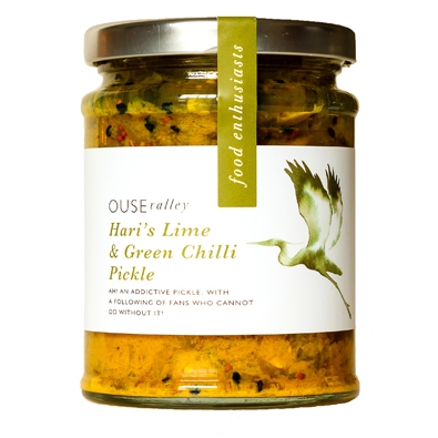 Lime & Green Chilli Pickle