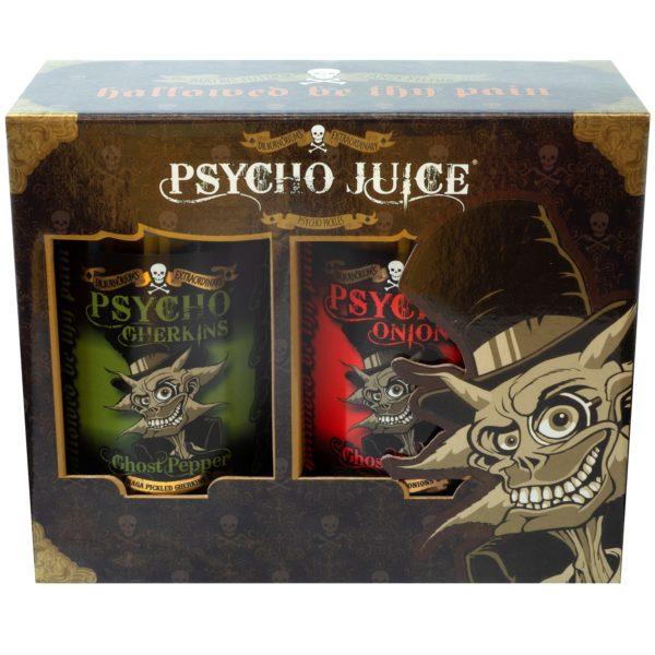 Psycho Onions & Gherkins Gift Box