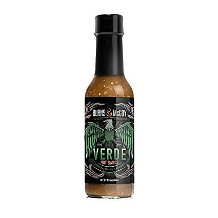 Reaper Verde - fire roasted tomatillos, green jalapenos, roasted garlic, onions