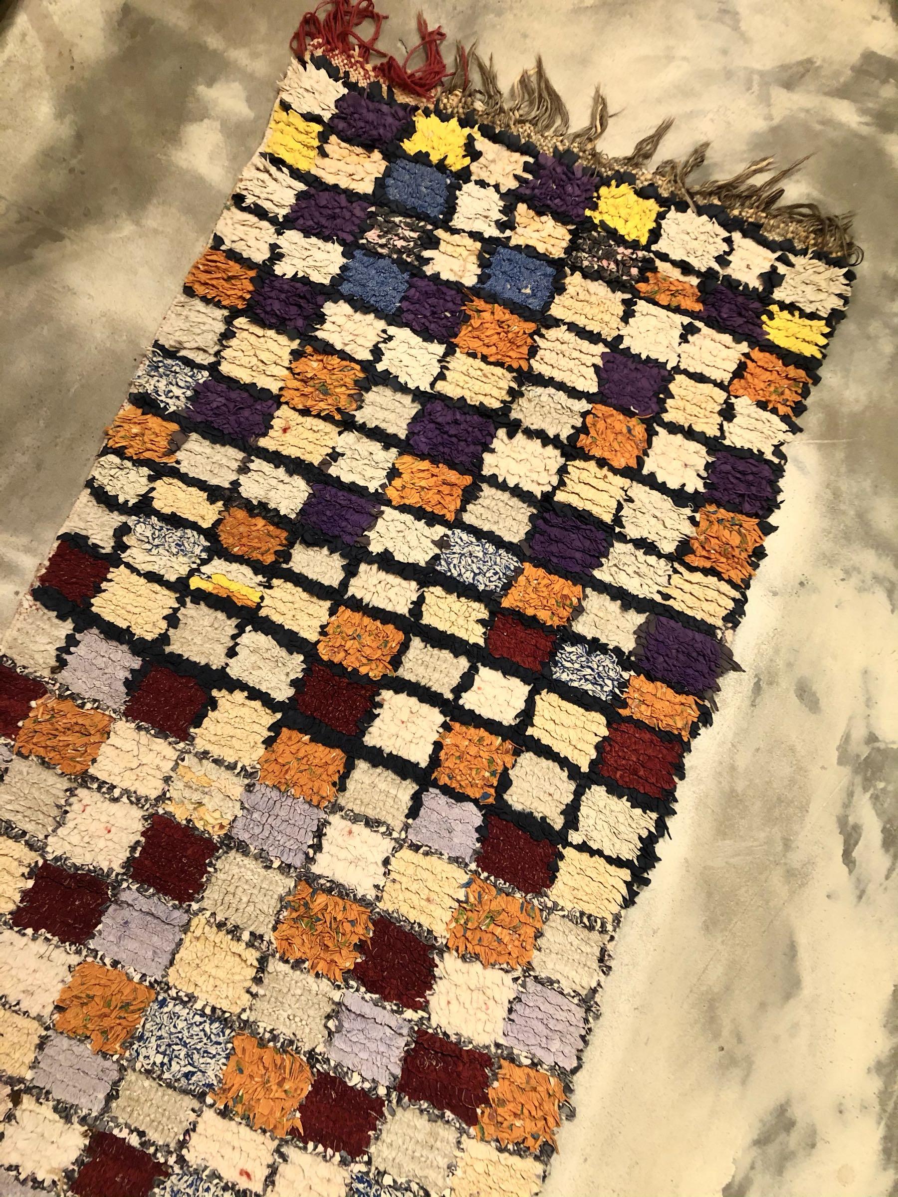 Rug boucherouite 70x185 cm
