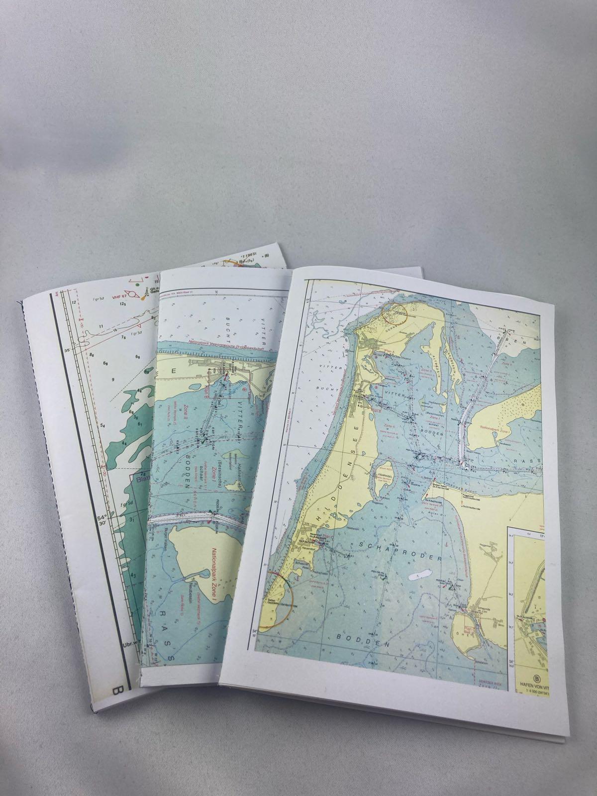 Fischereidesign -  Hiddensee Notizbuch