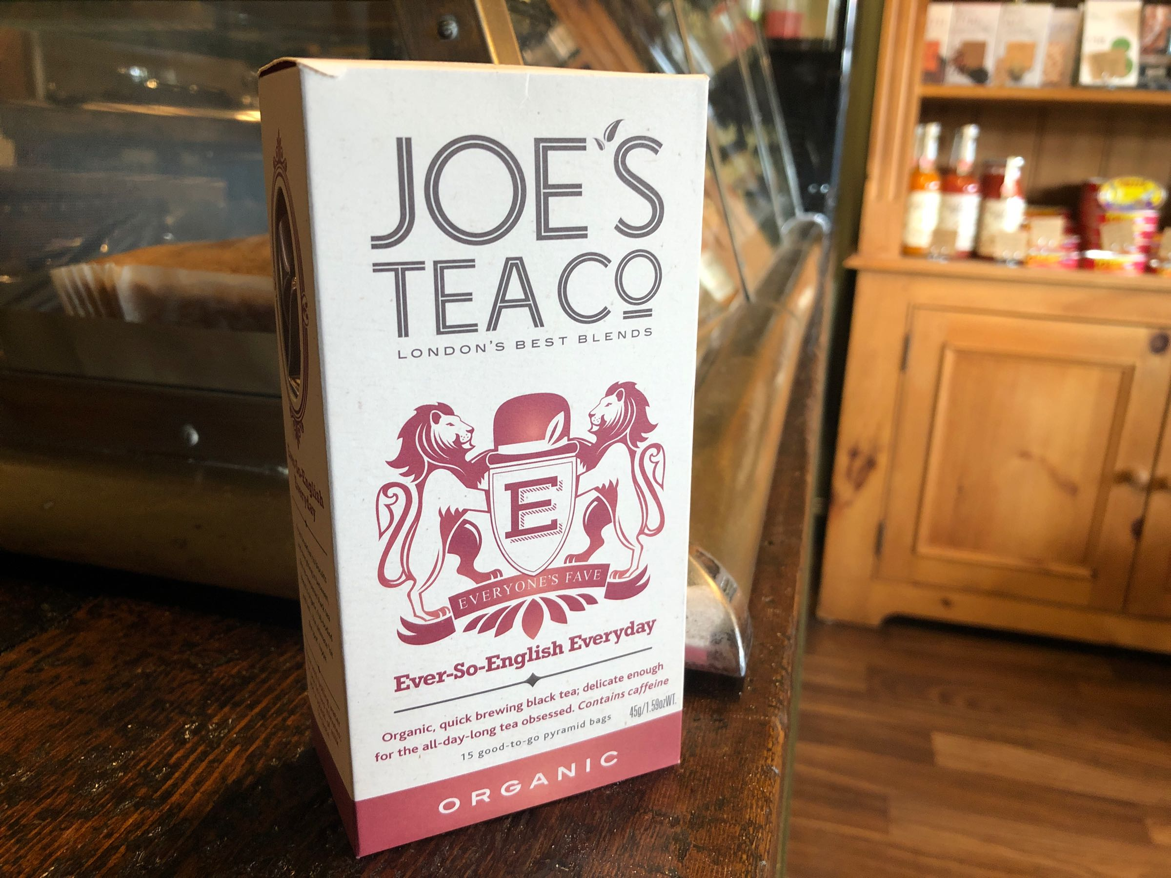 Joe's Tea Co. Ever-So-English Everyday - Organic