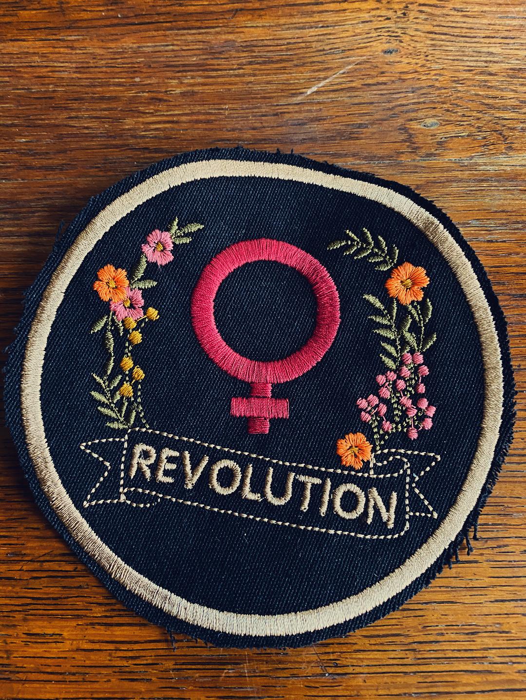 Revolution Dark Pink Patch by DesignFem