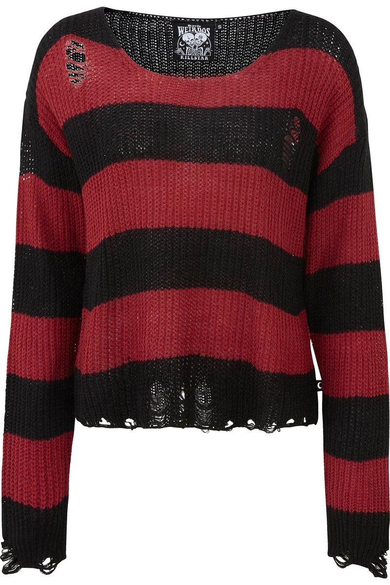 Casey Sweater Red Killstar