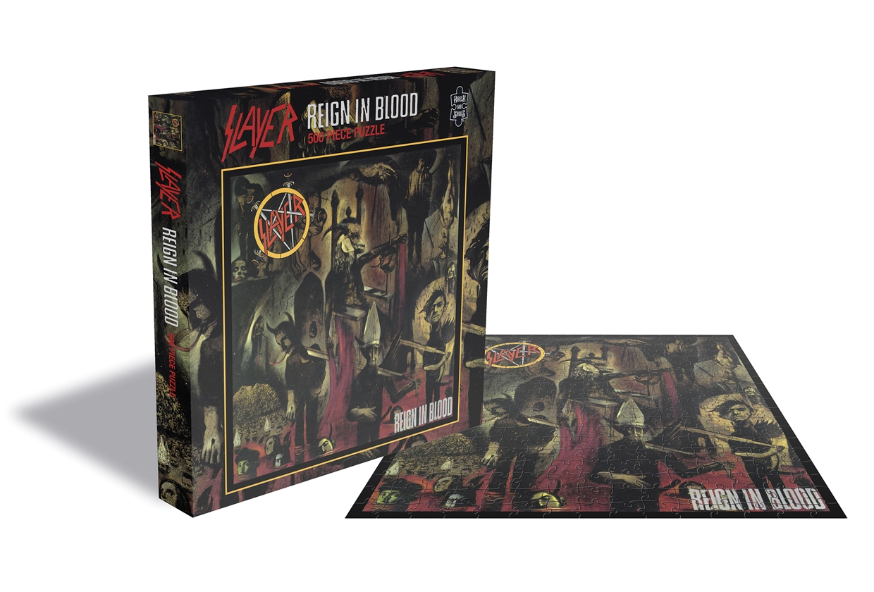 Slayer Reign in blood 500 pieces Puzzle