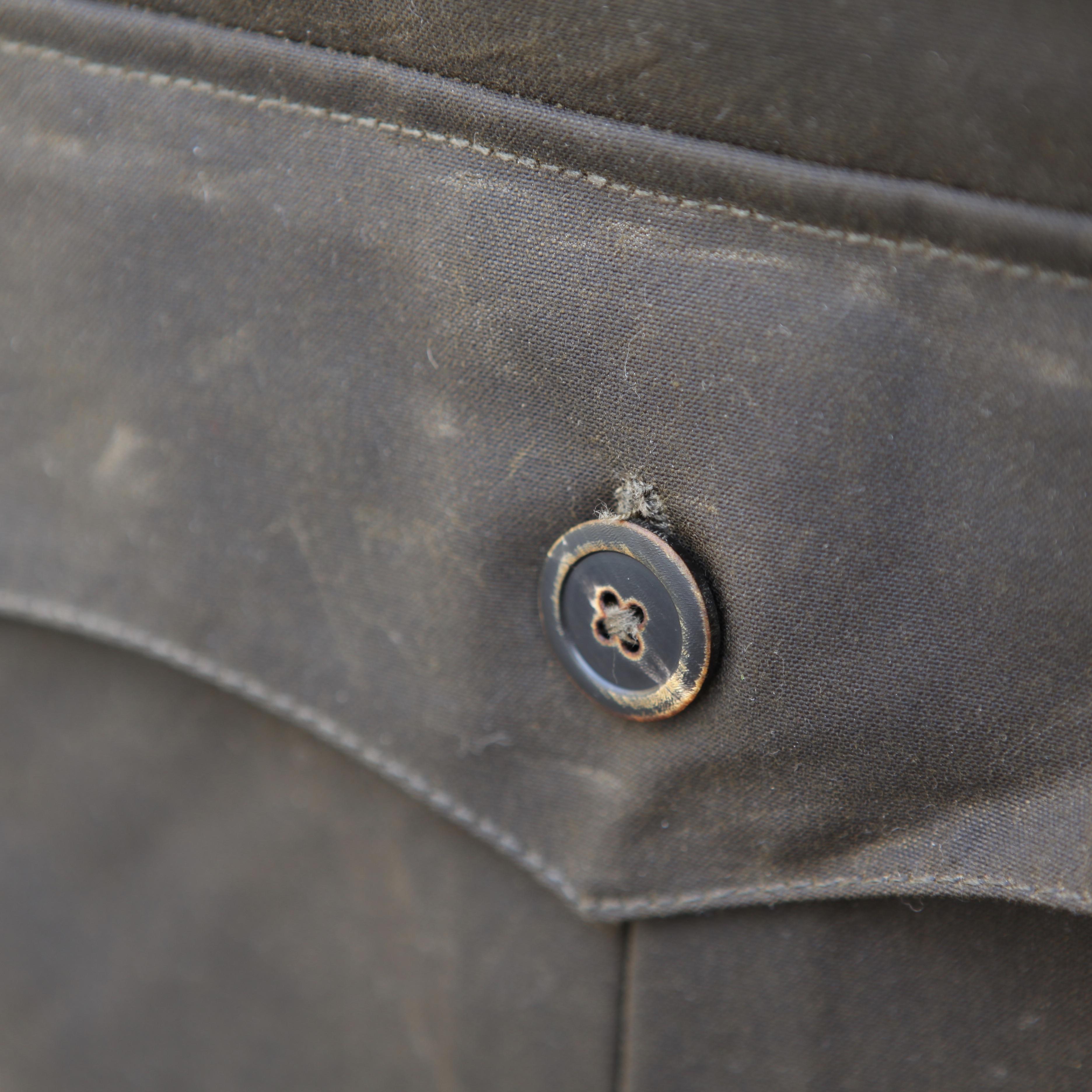 Waxed Aviator Jacket