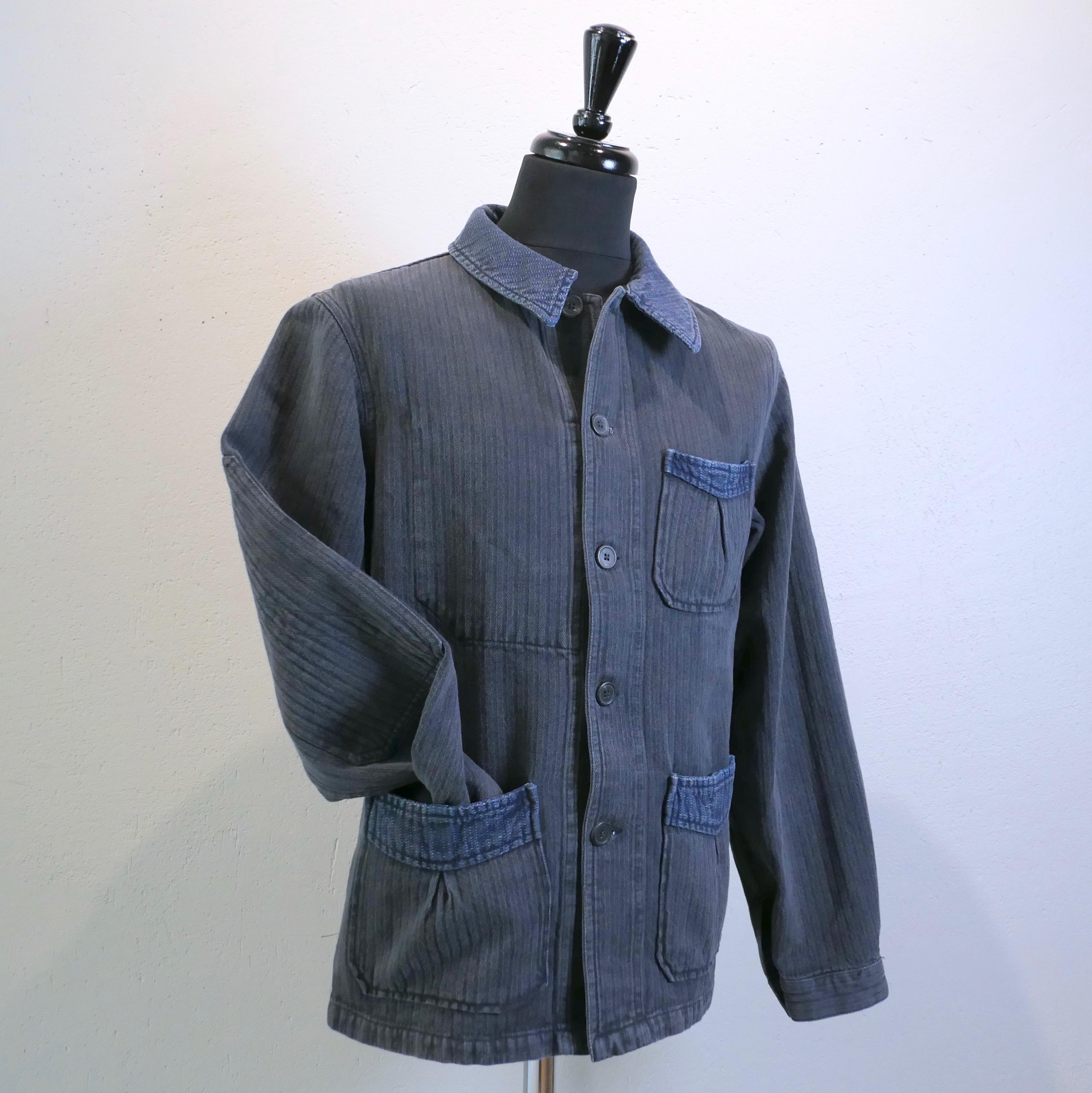 Déserteur jacket indigo/black