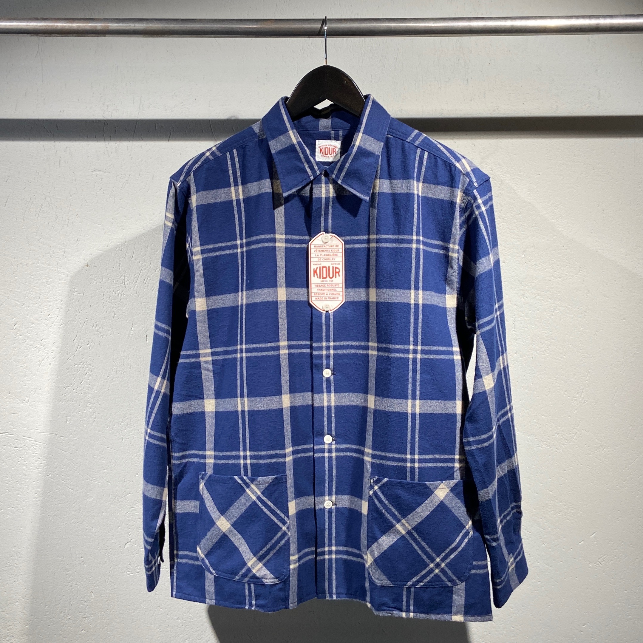 Kidur Flannel Camp Shirt