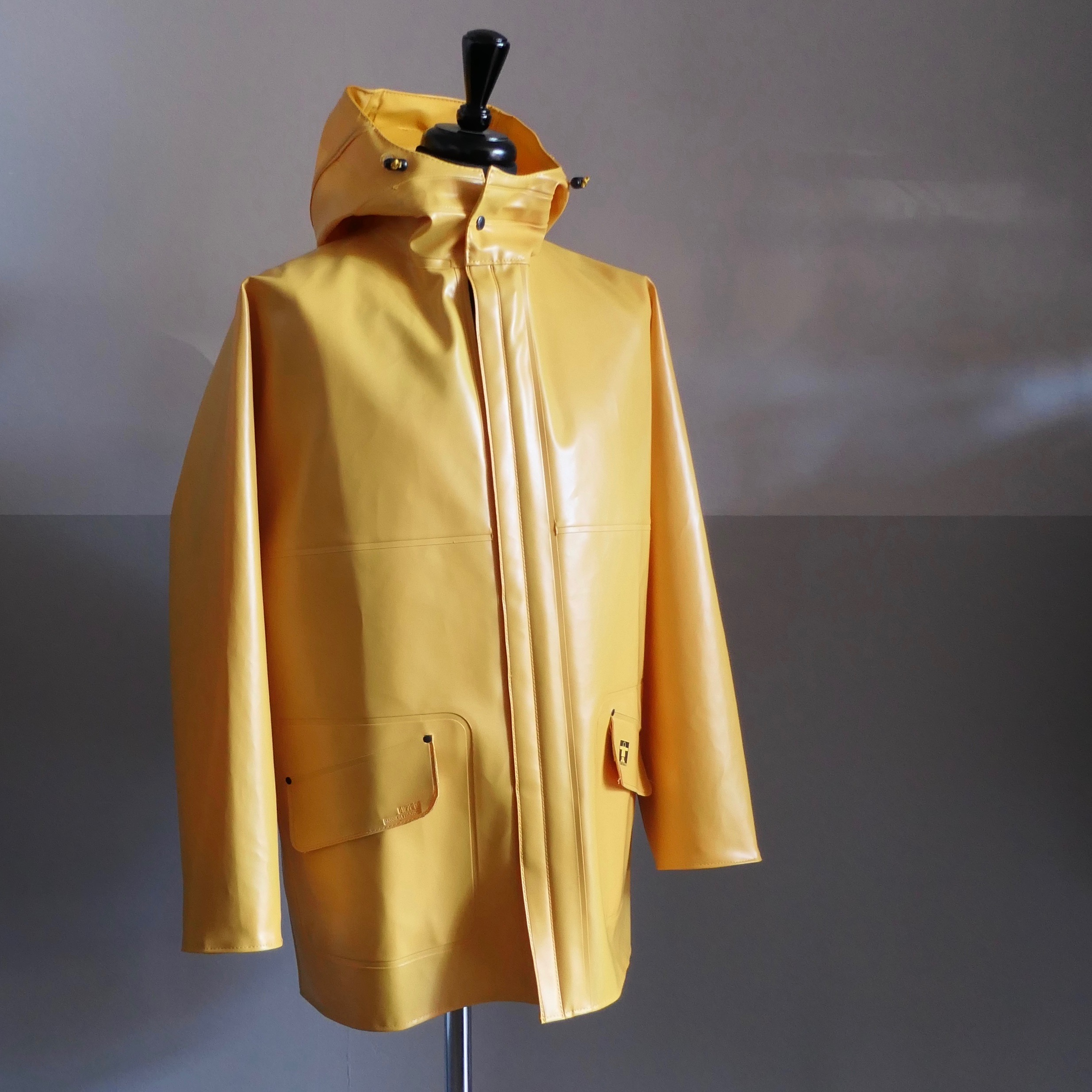 "Heavy-duty raincoat ""Rosbras"" Yellow"