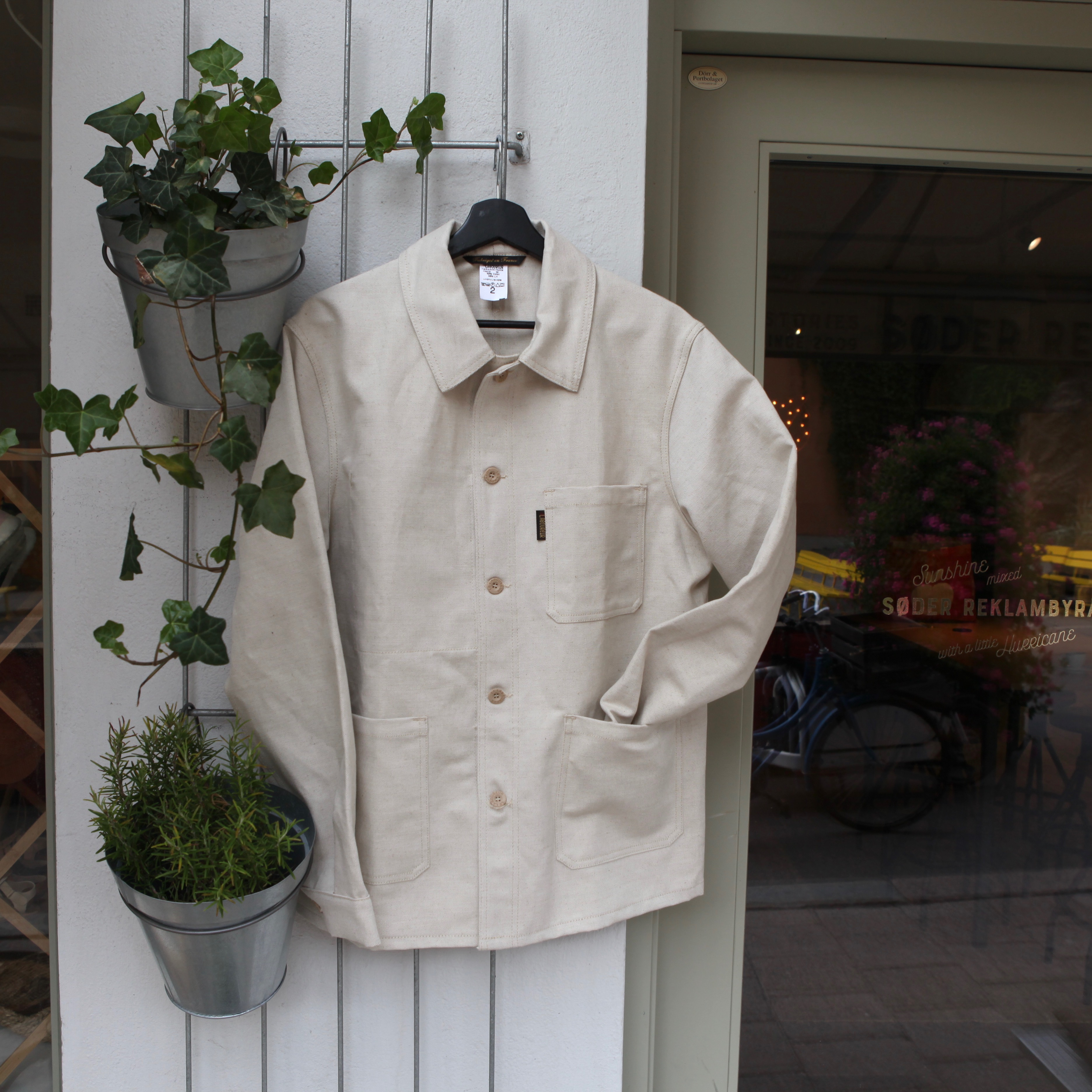 Le Laboureur Craftman Linen Jacket