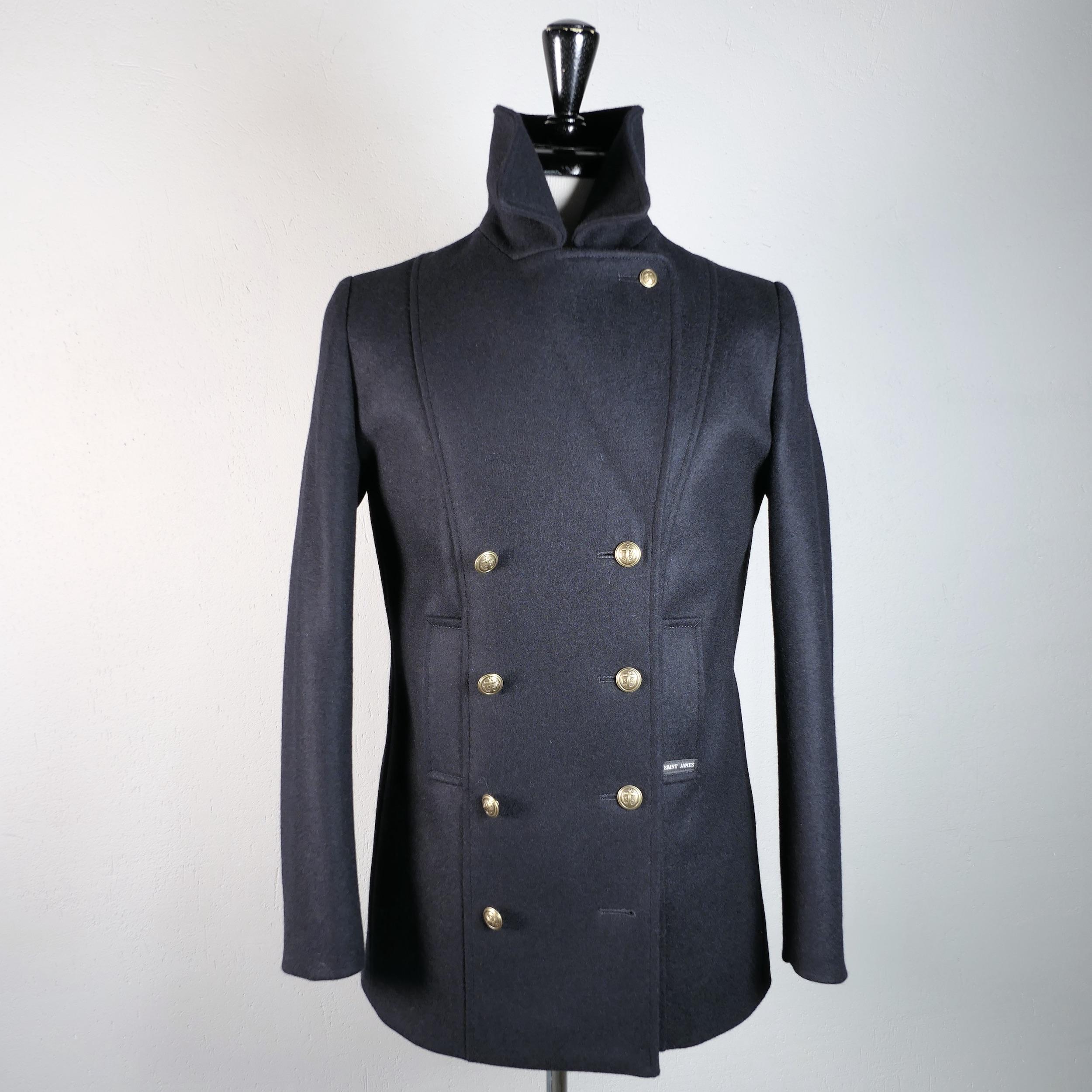 La Capitaine - women's officer peacoat