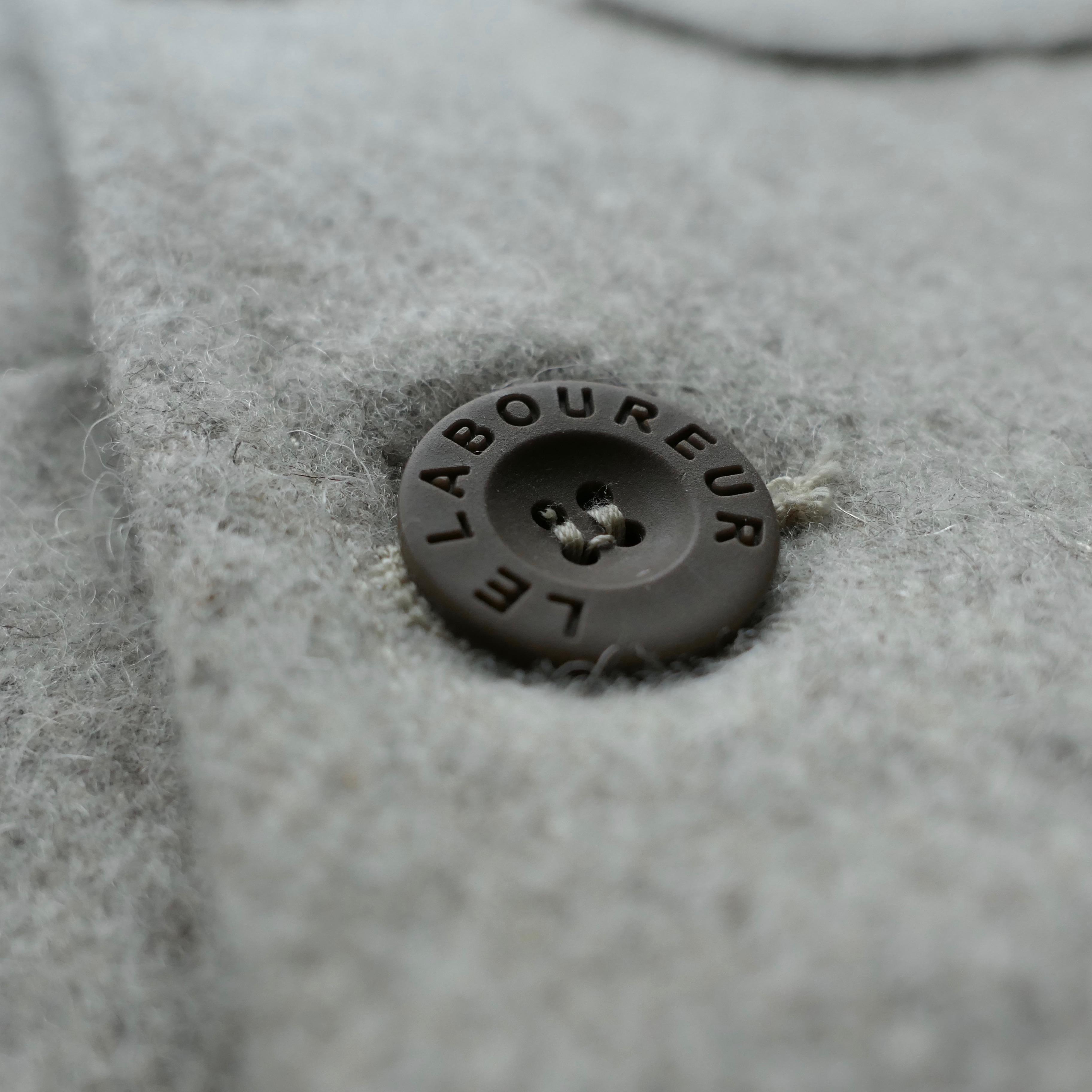 Original Burel Woolen Jacket Sand