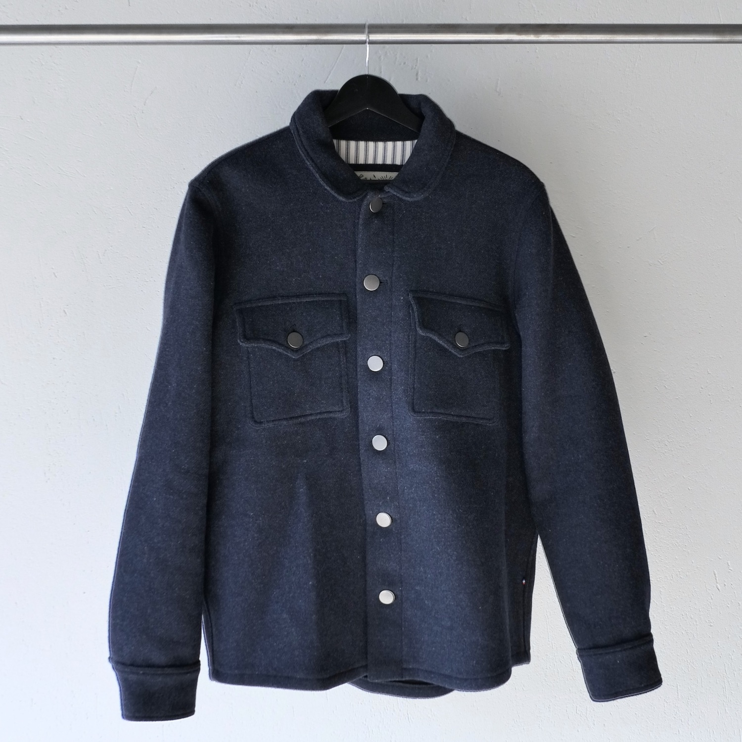 TonTon & Fils wool jacket Navy