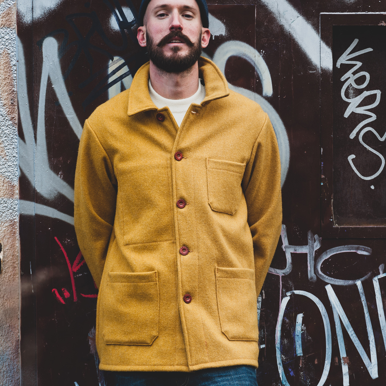 Le Laboureur Woolen Jacket SAFRON