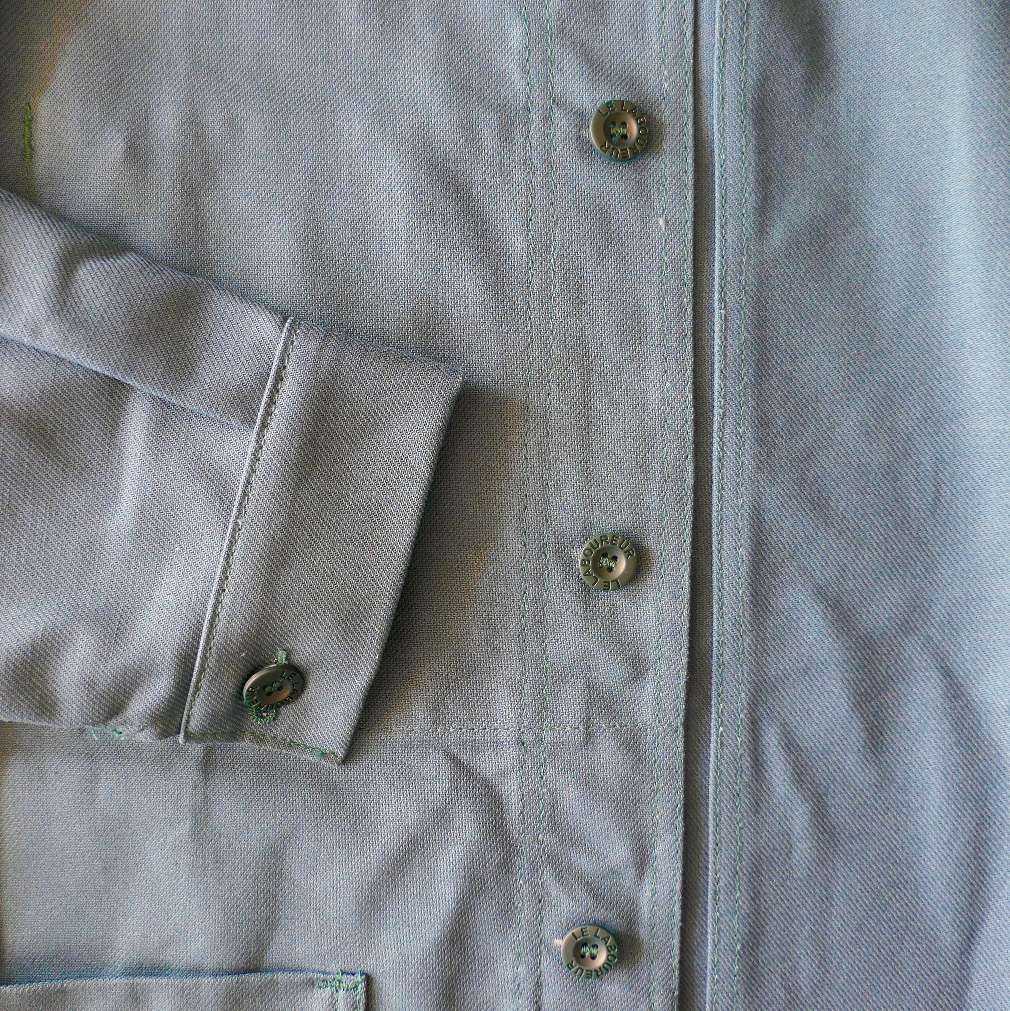 Original Worker's overshirt - Petrol Green