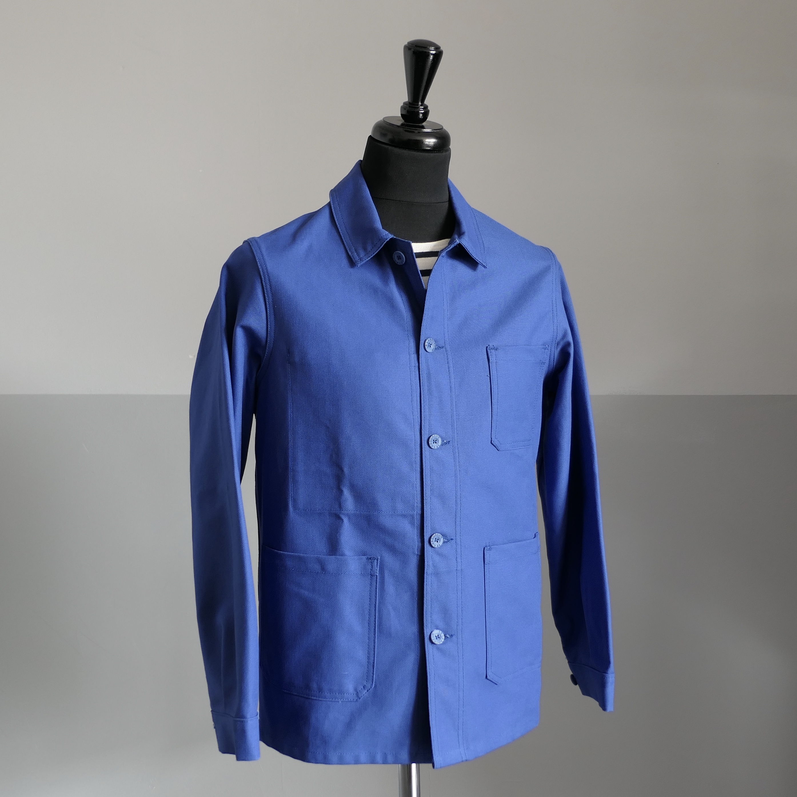 Original Worker's overshirt Bugatti blue