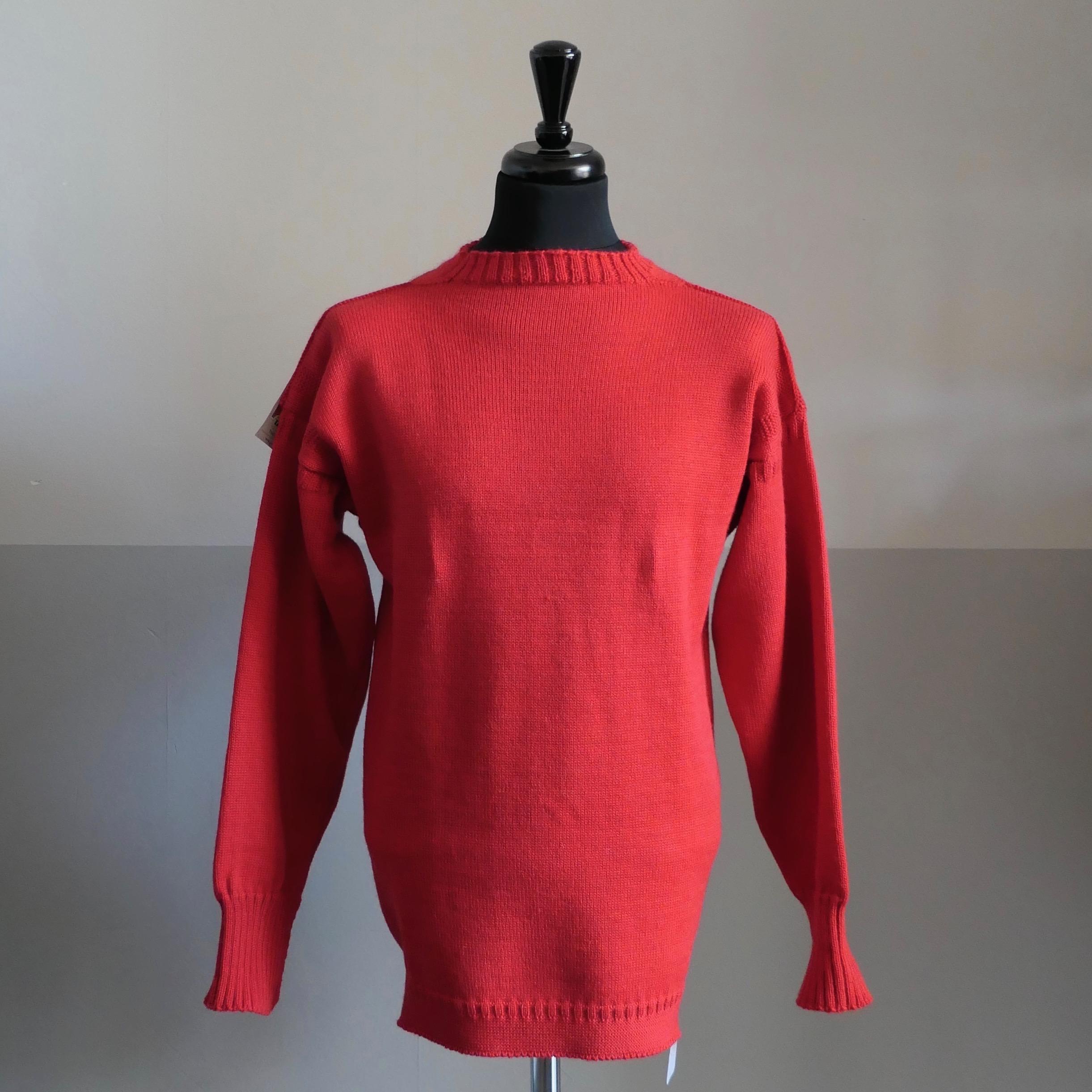 Guernsey Fisherman's Wool Sweater