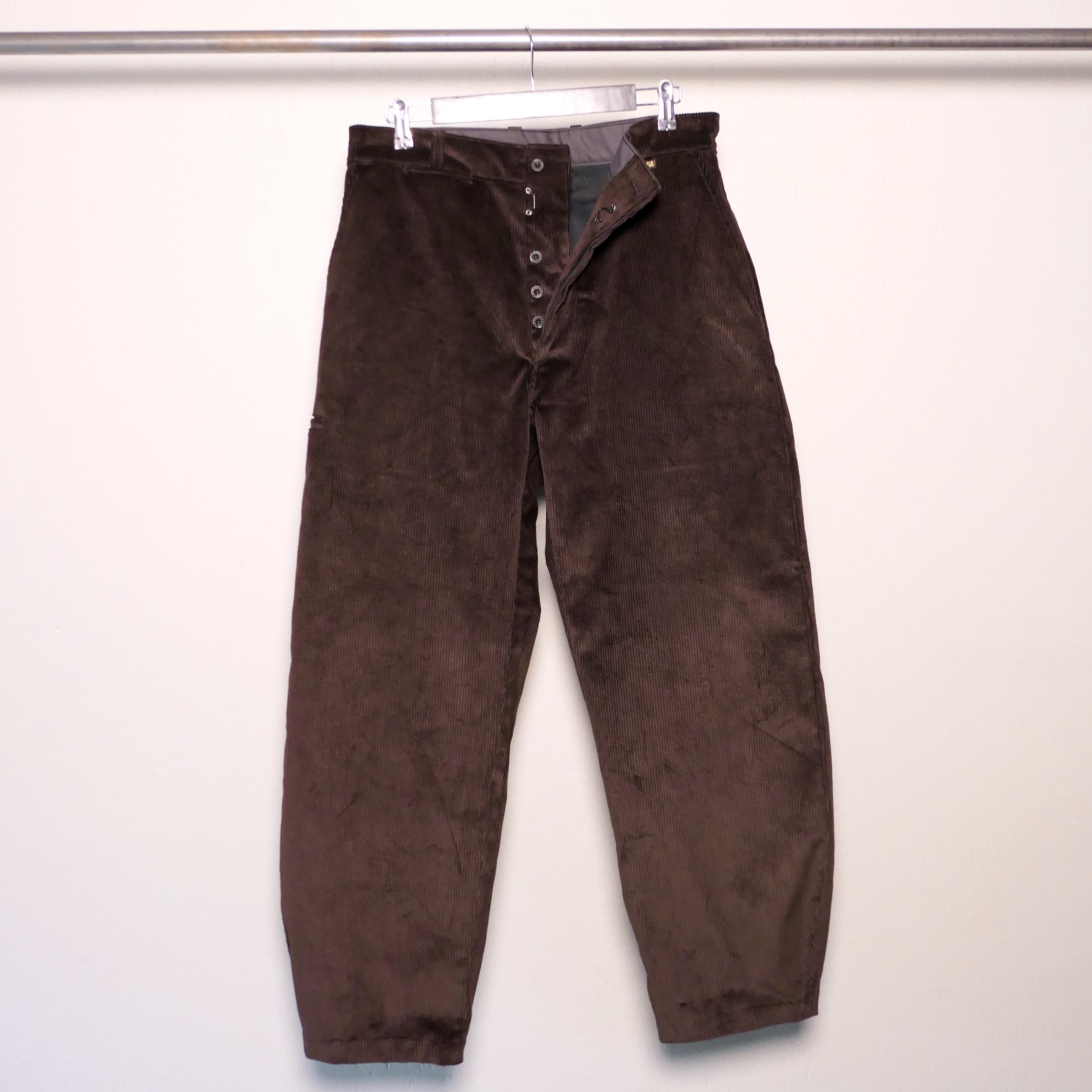Corduroy Craftsman pants brown