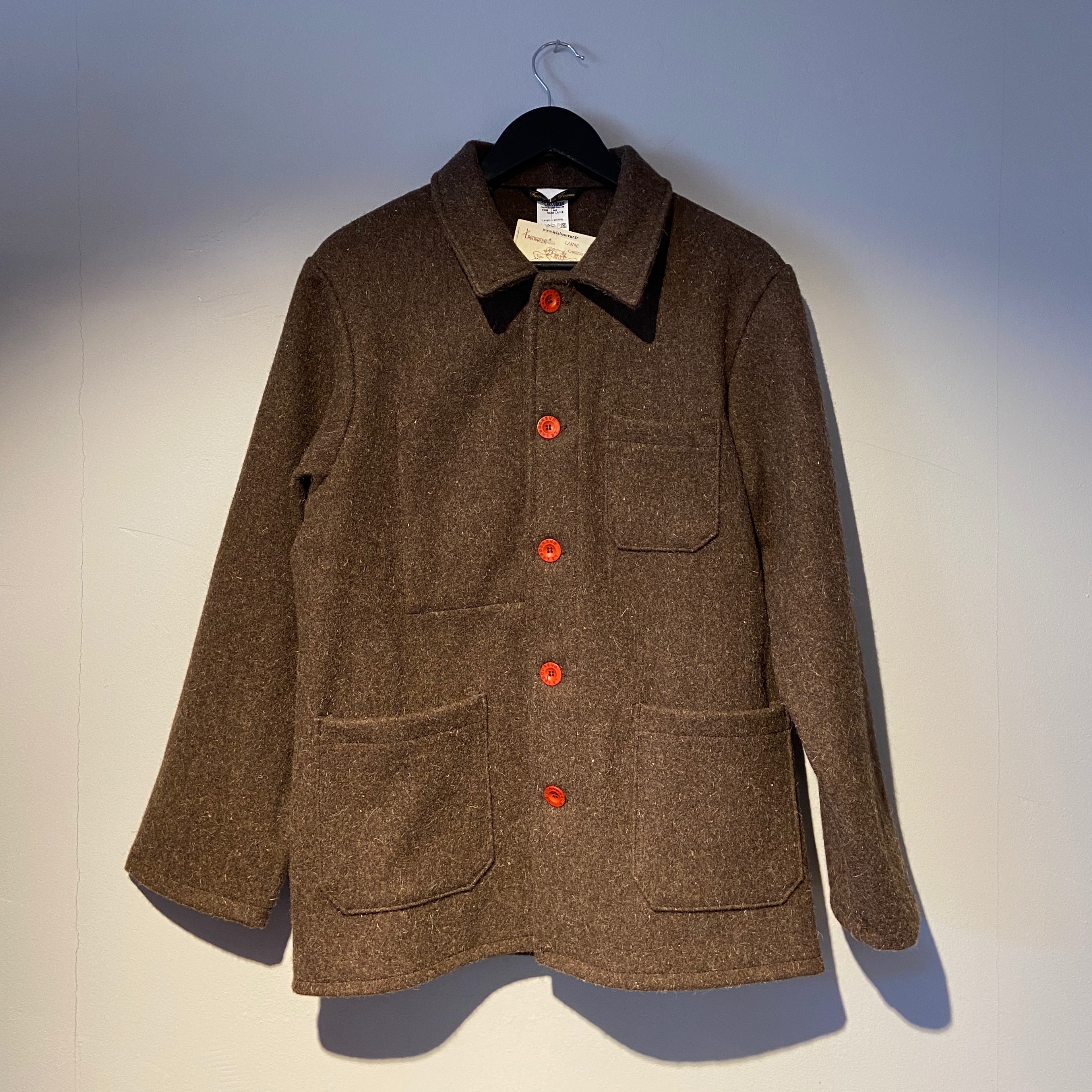 Original Wool Jacket Brown