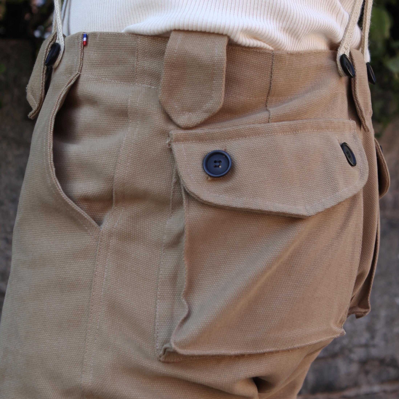 Tanker Pants 001 Canvas Tan