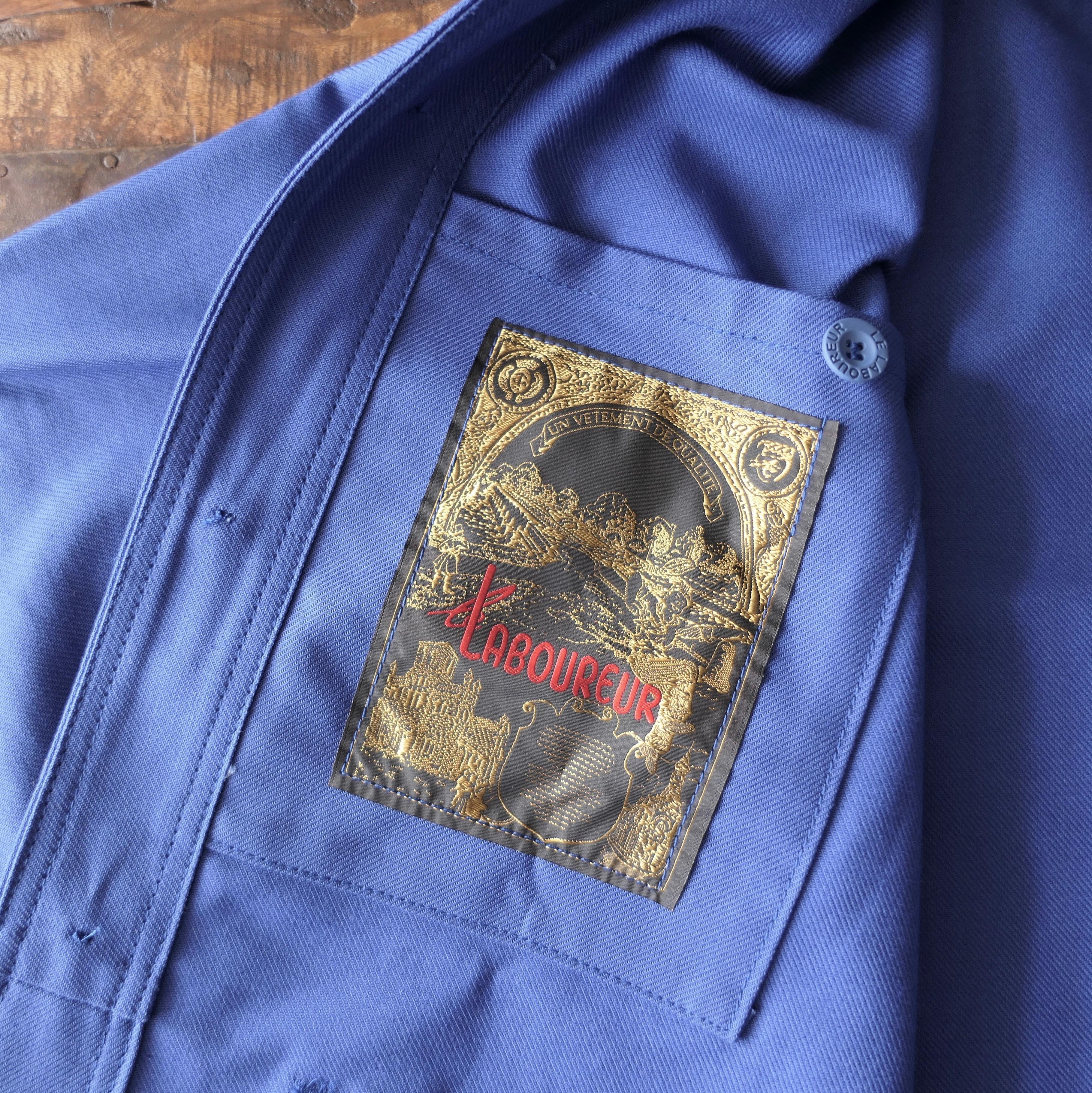 Original Worker's overshirt Bugatti blue