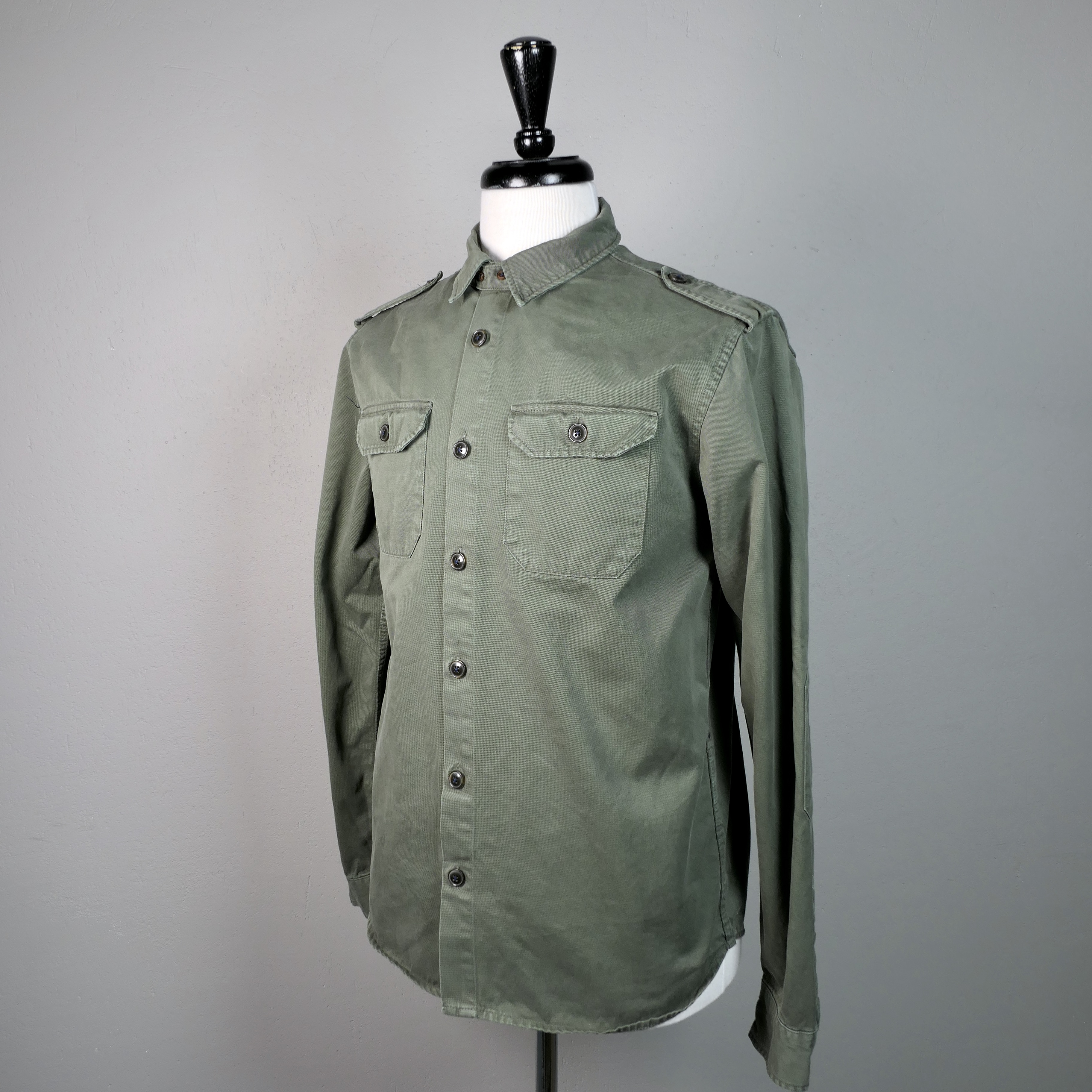 French military overshirt Kaki