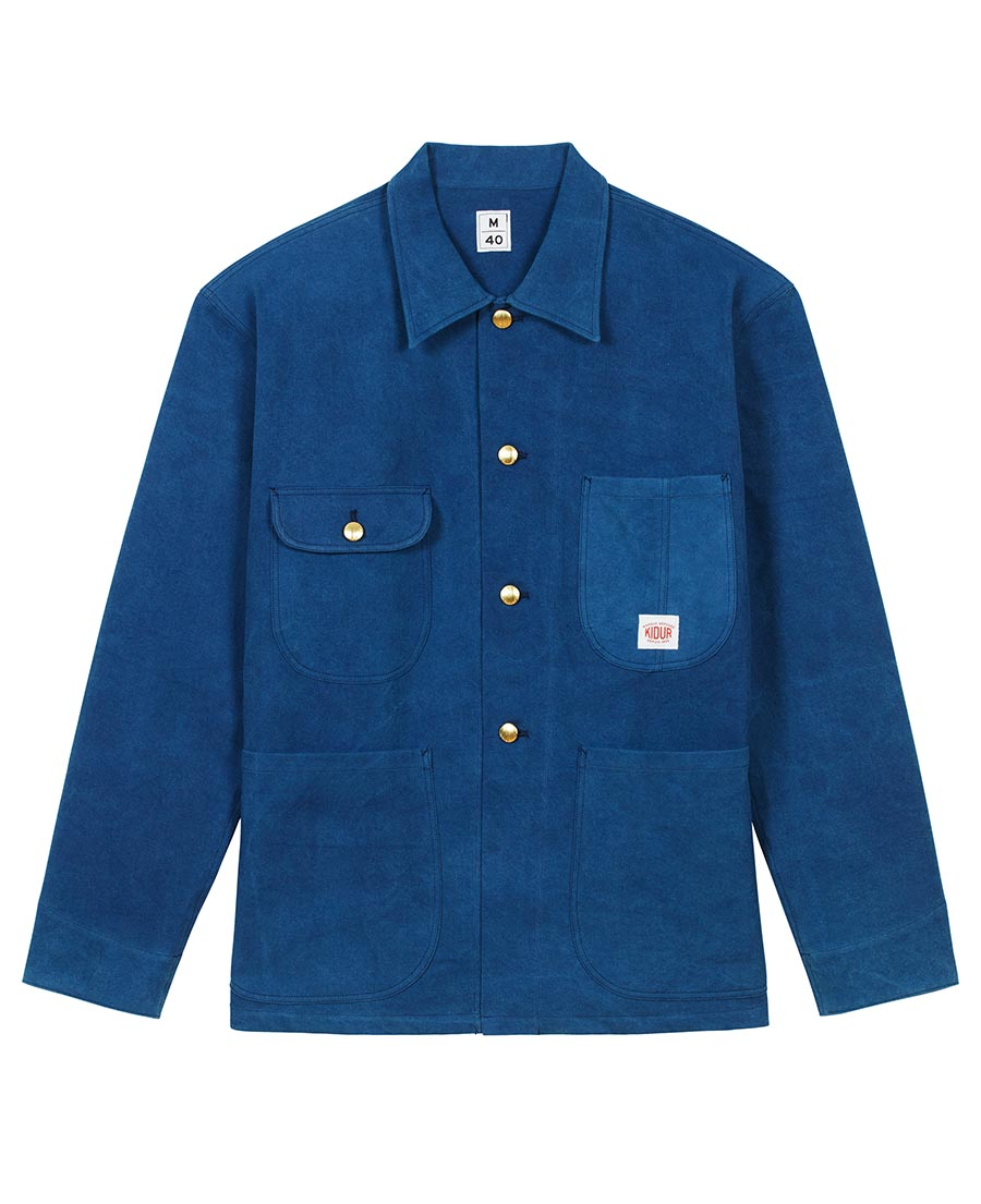 Kidur La Train Jacket Indigo