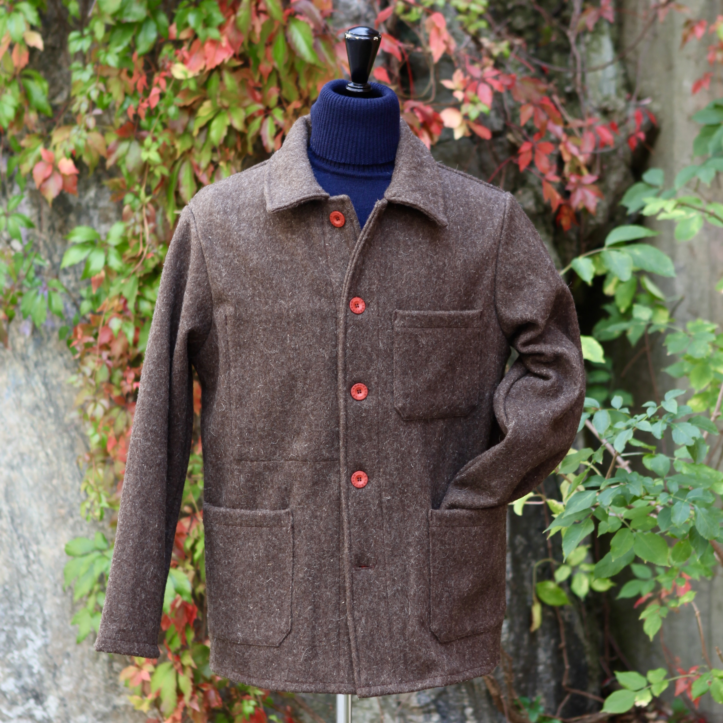 Original Woolen Jacket Brown