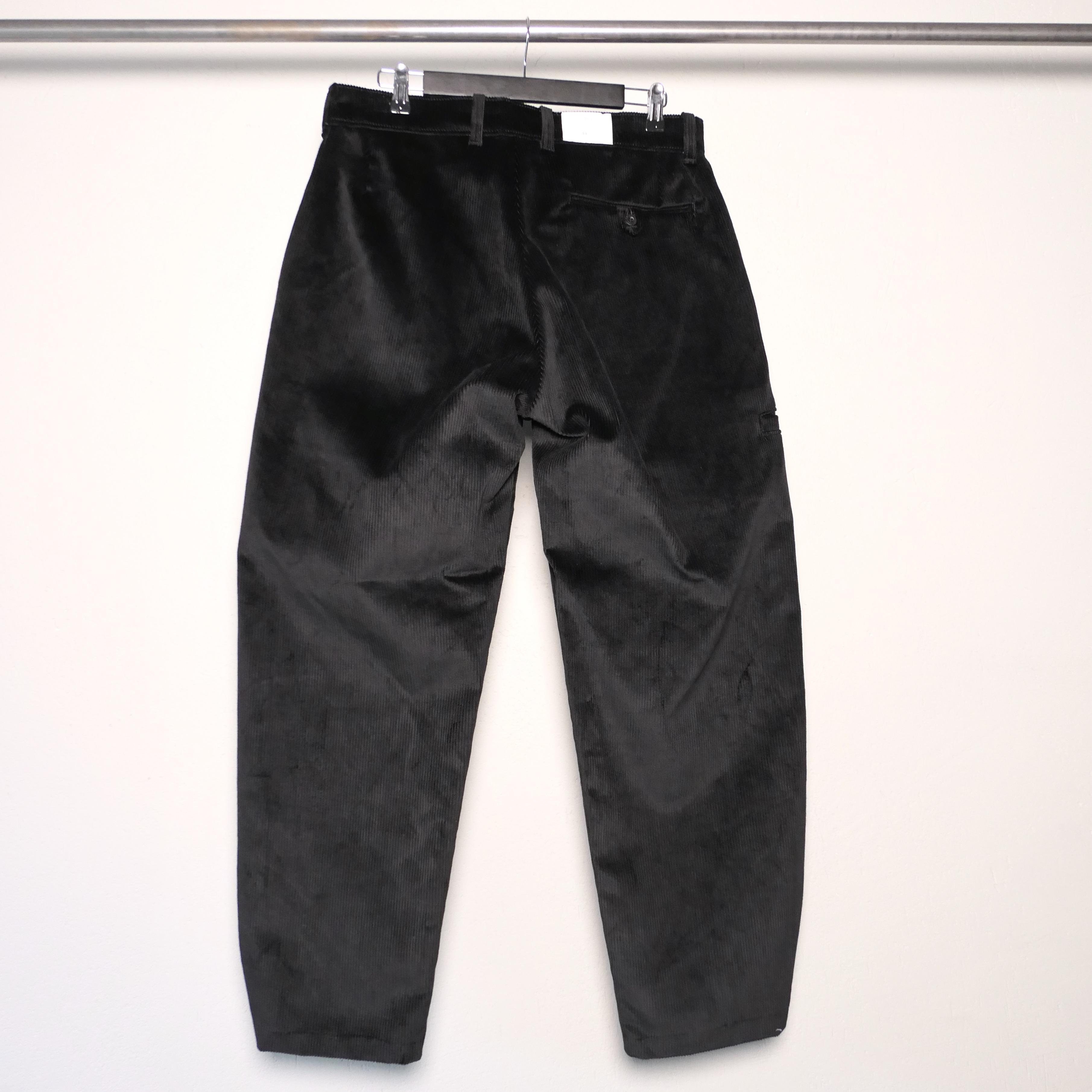 Corduroy Craftsman pants black