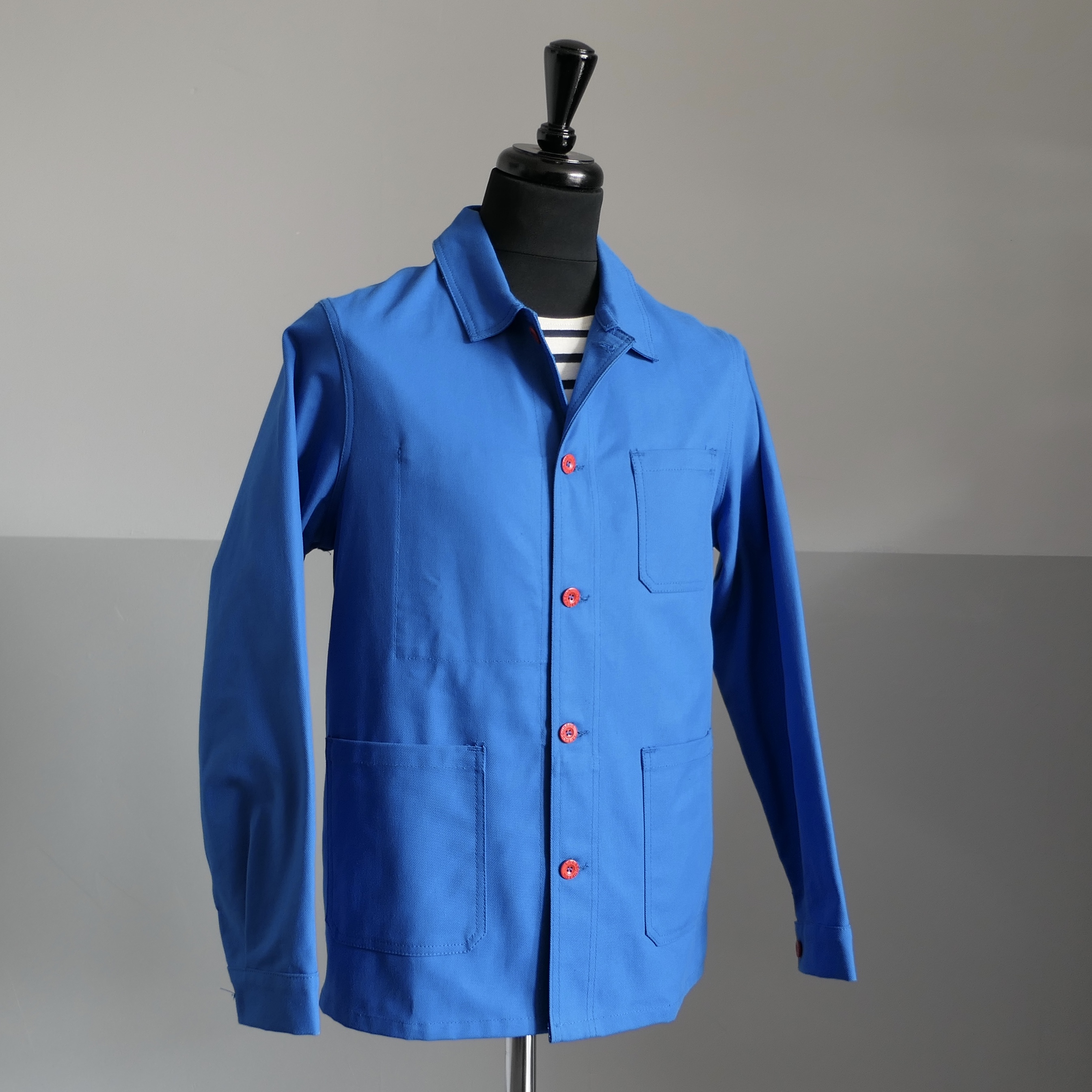 Worker's Overshirt - Azur blue
