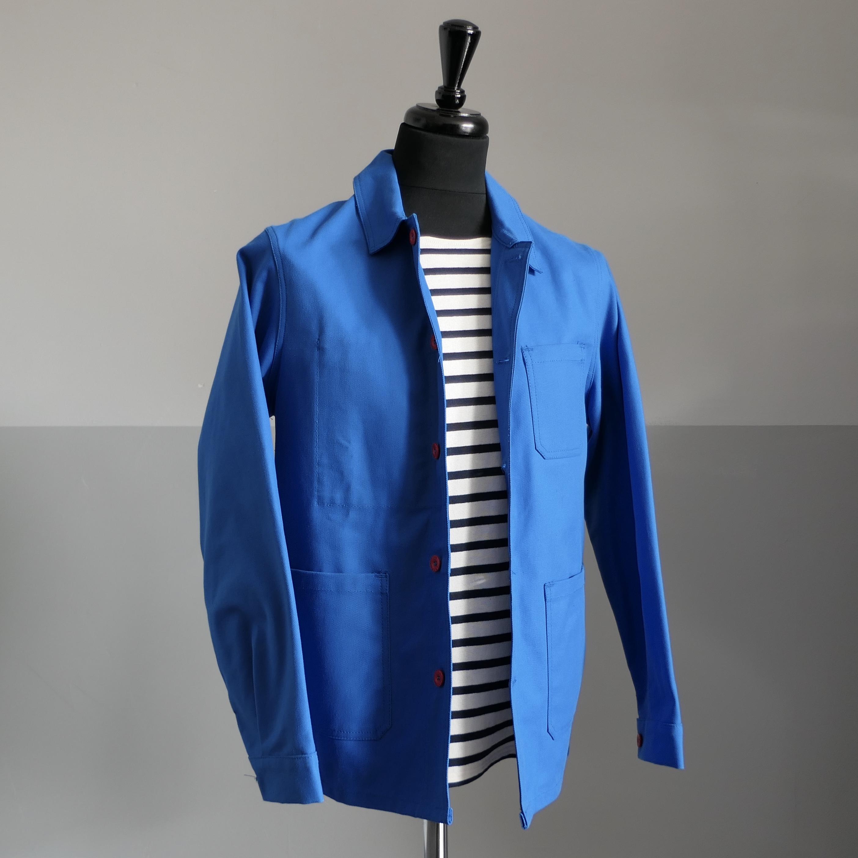 Worker's Overshirt - Azur blue