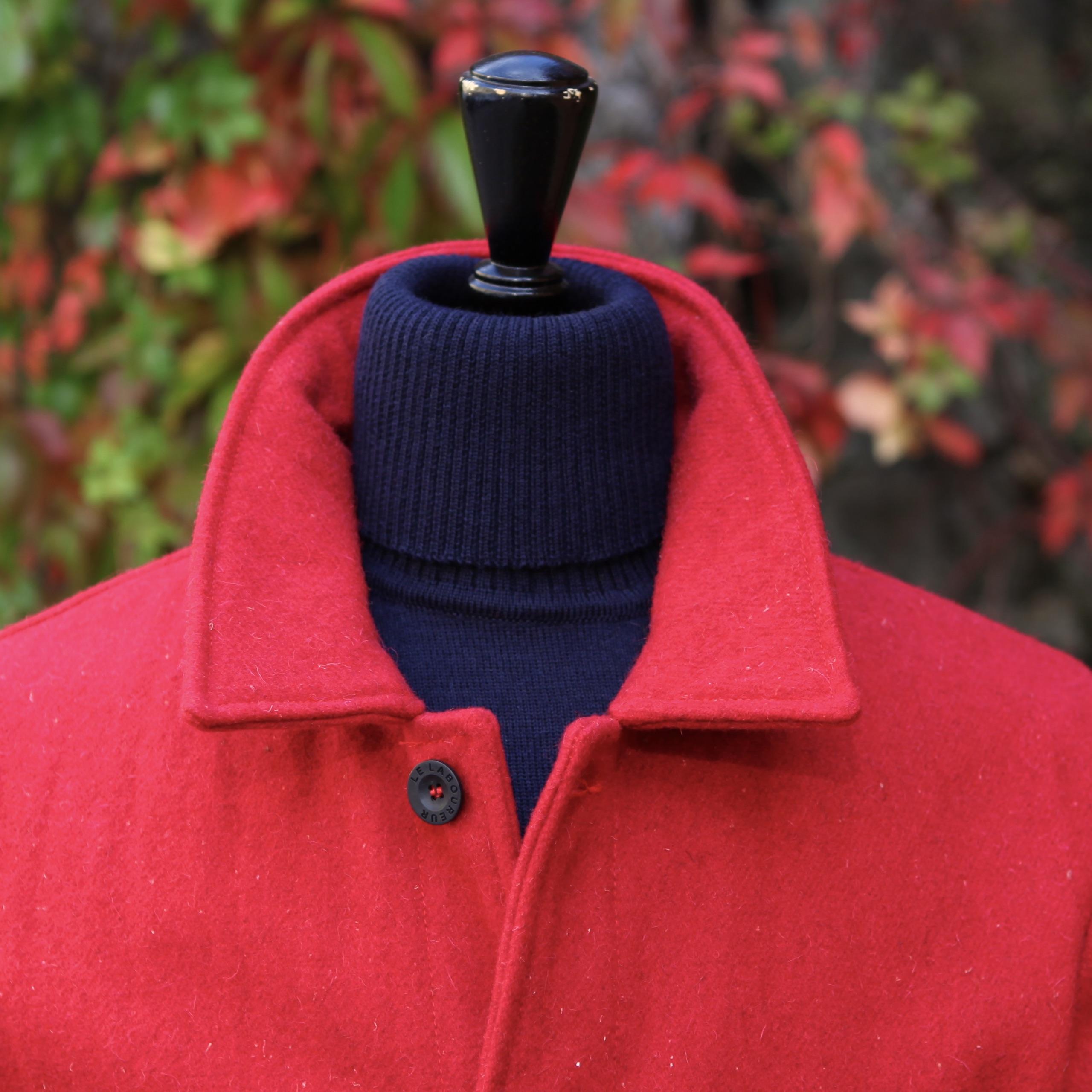 Le Laboureur Woolen Jacket RED